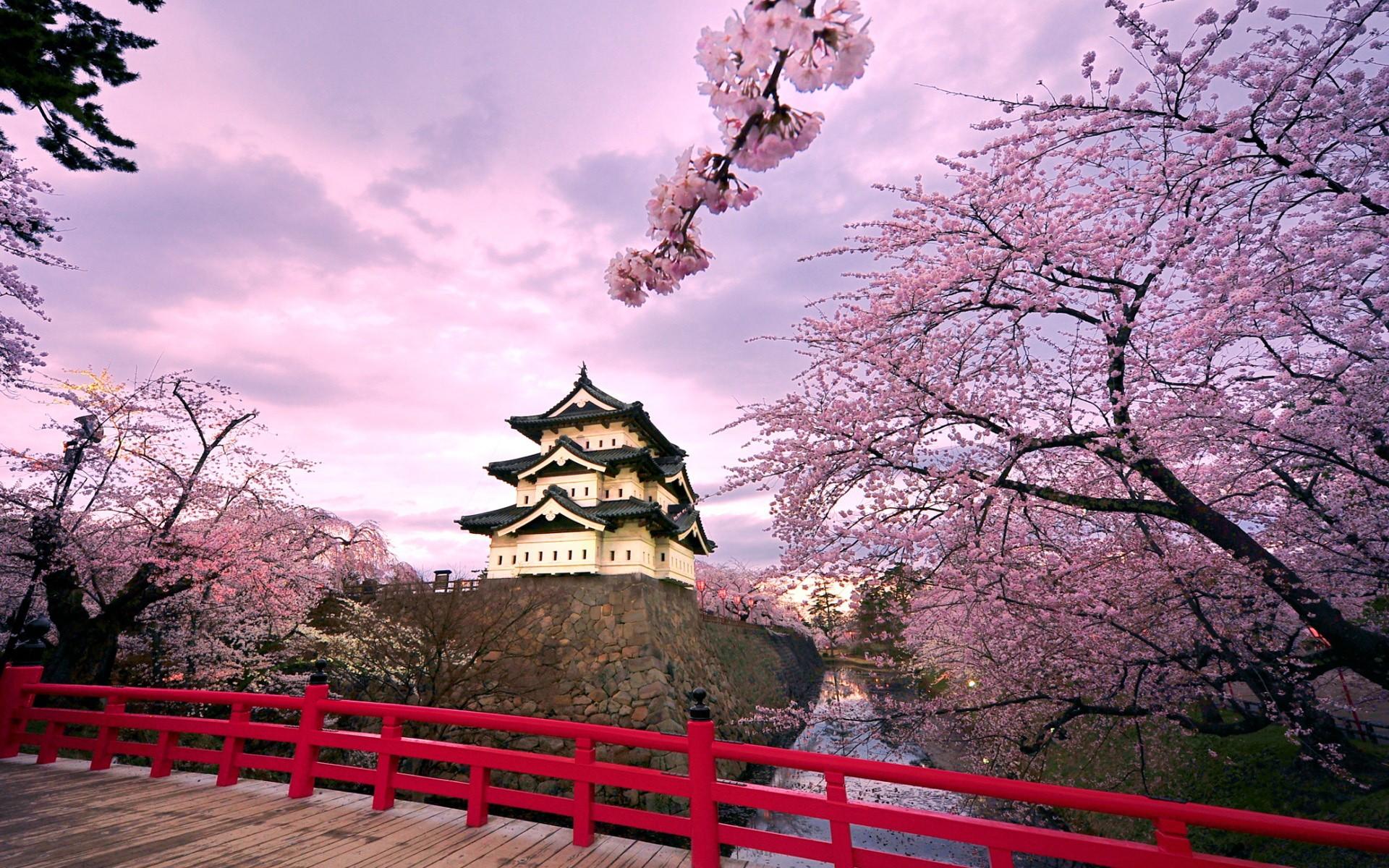 Castillo Japonés - 1920x1200