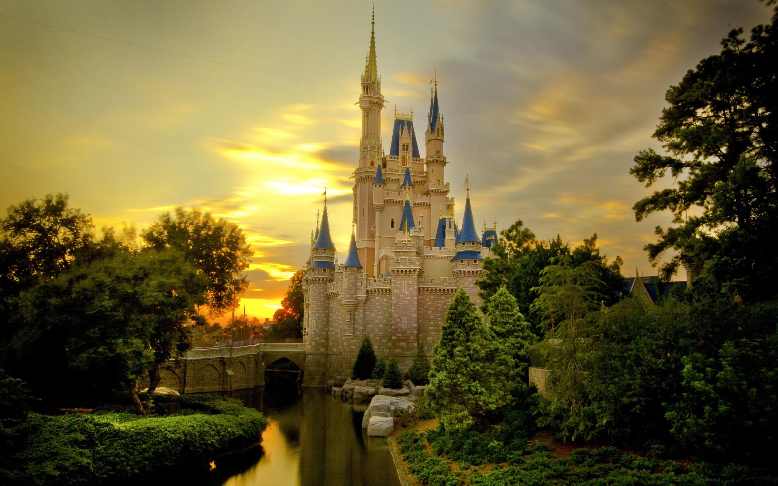 Castillos de princesas - 2560x1600