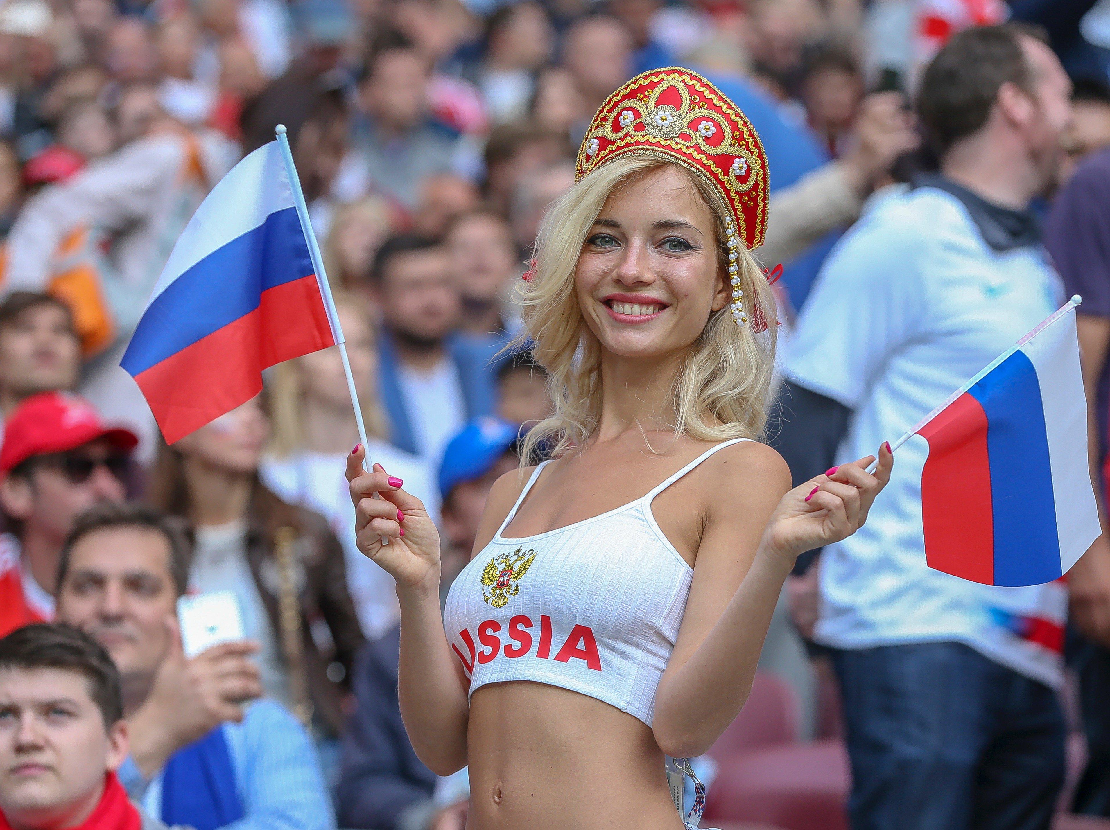 Chica rusa en el Mundial 2018 - 3821x2858