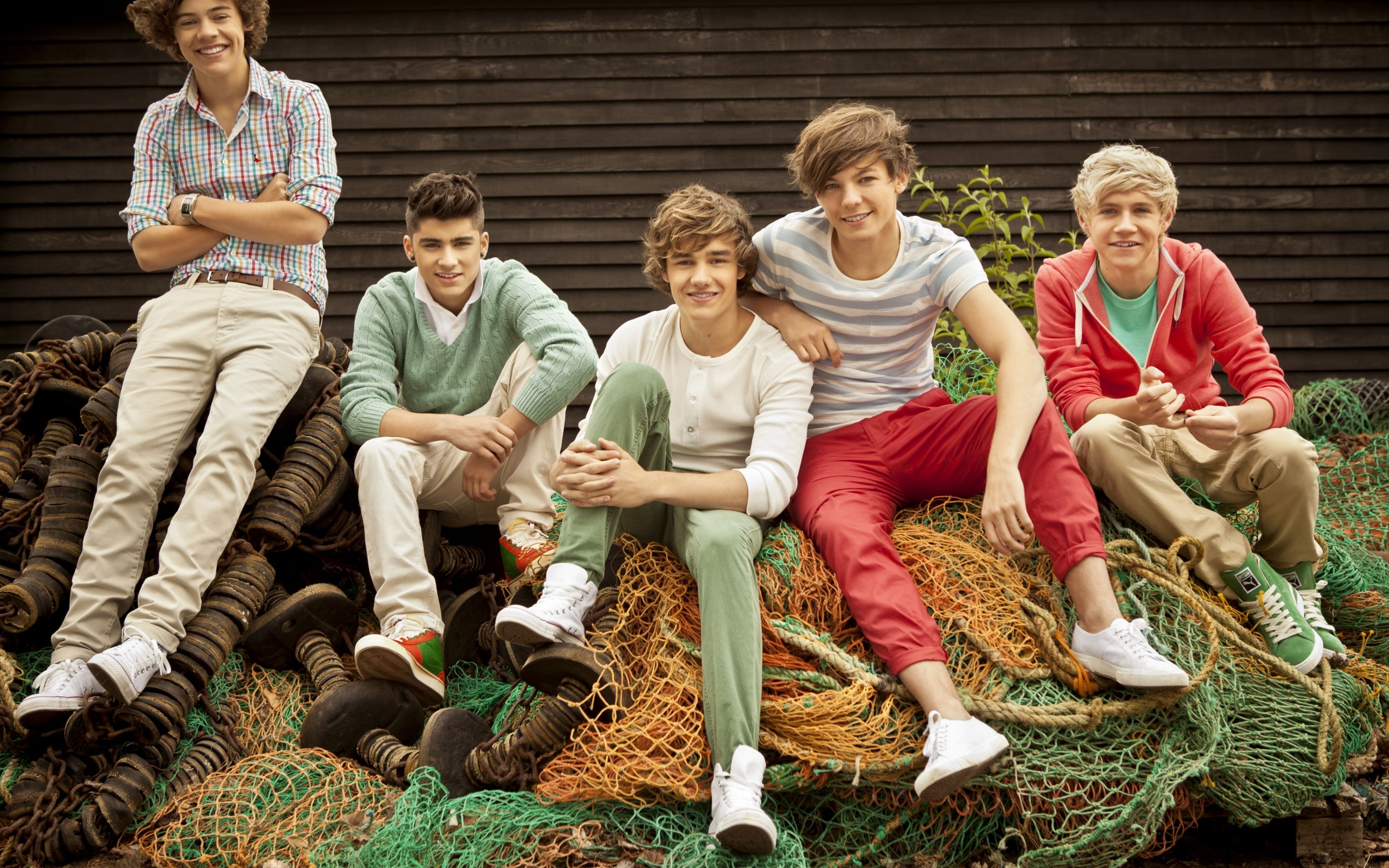 Chicos de One Direction - 2560x1600