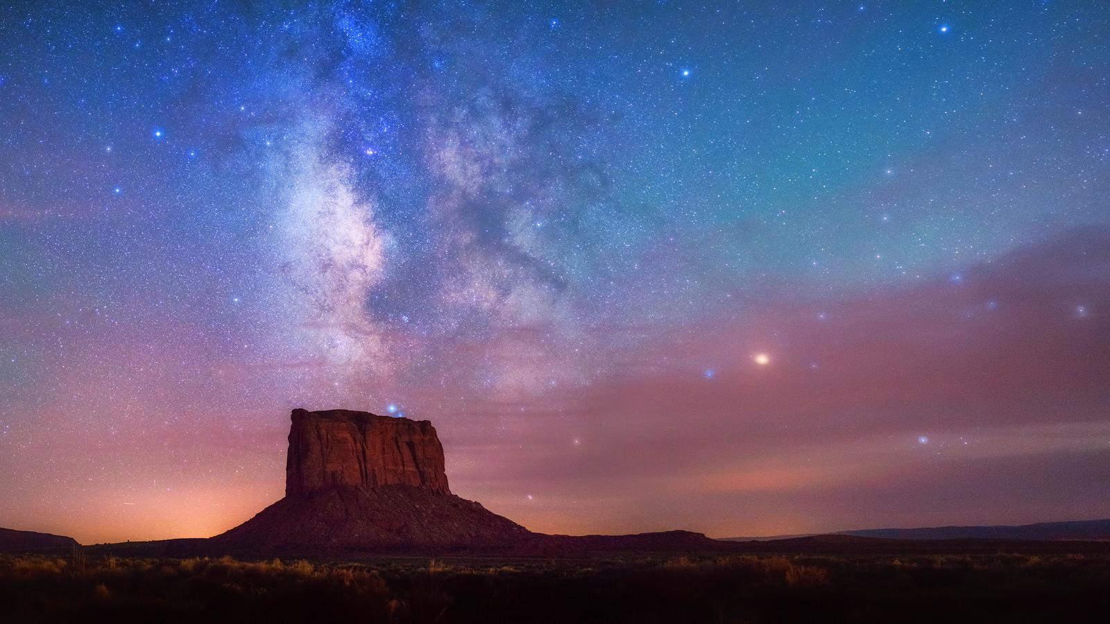 Cielo estrellado - 1600x900