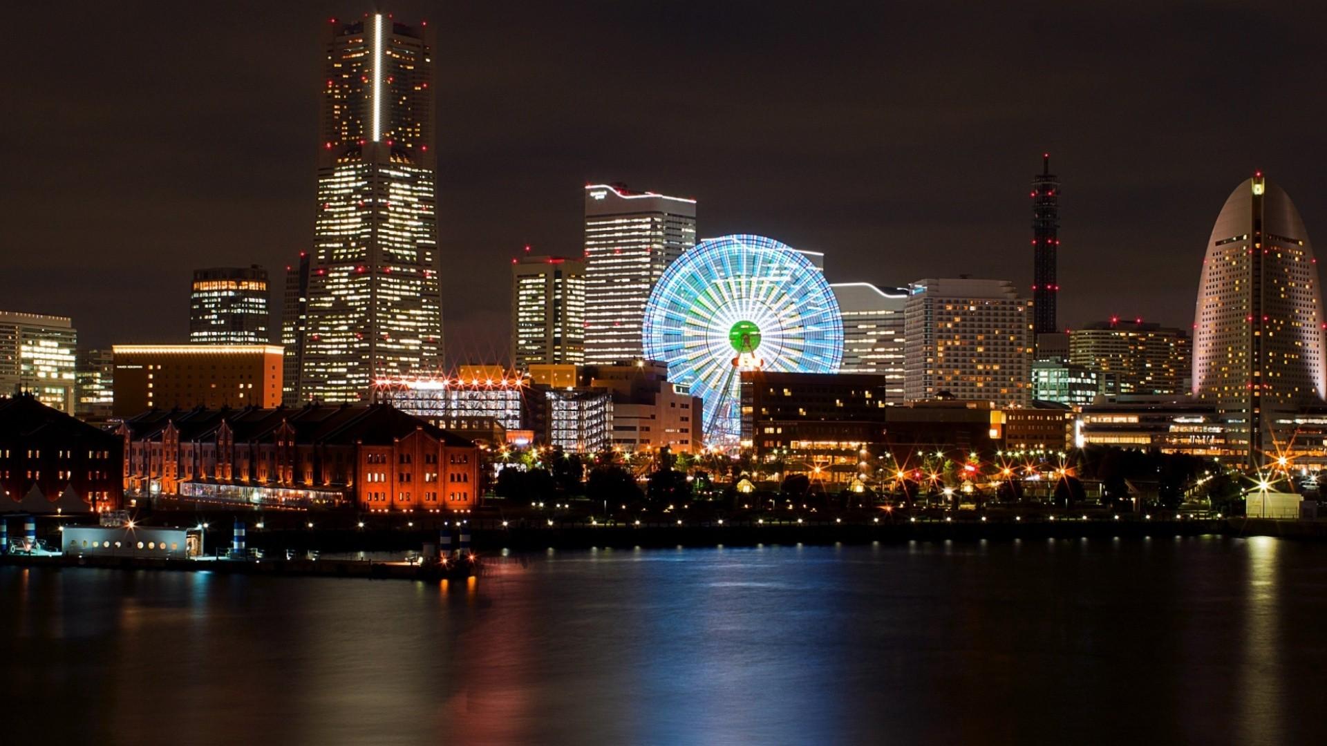 Ciudad de Japon - 1920x1080