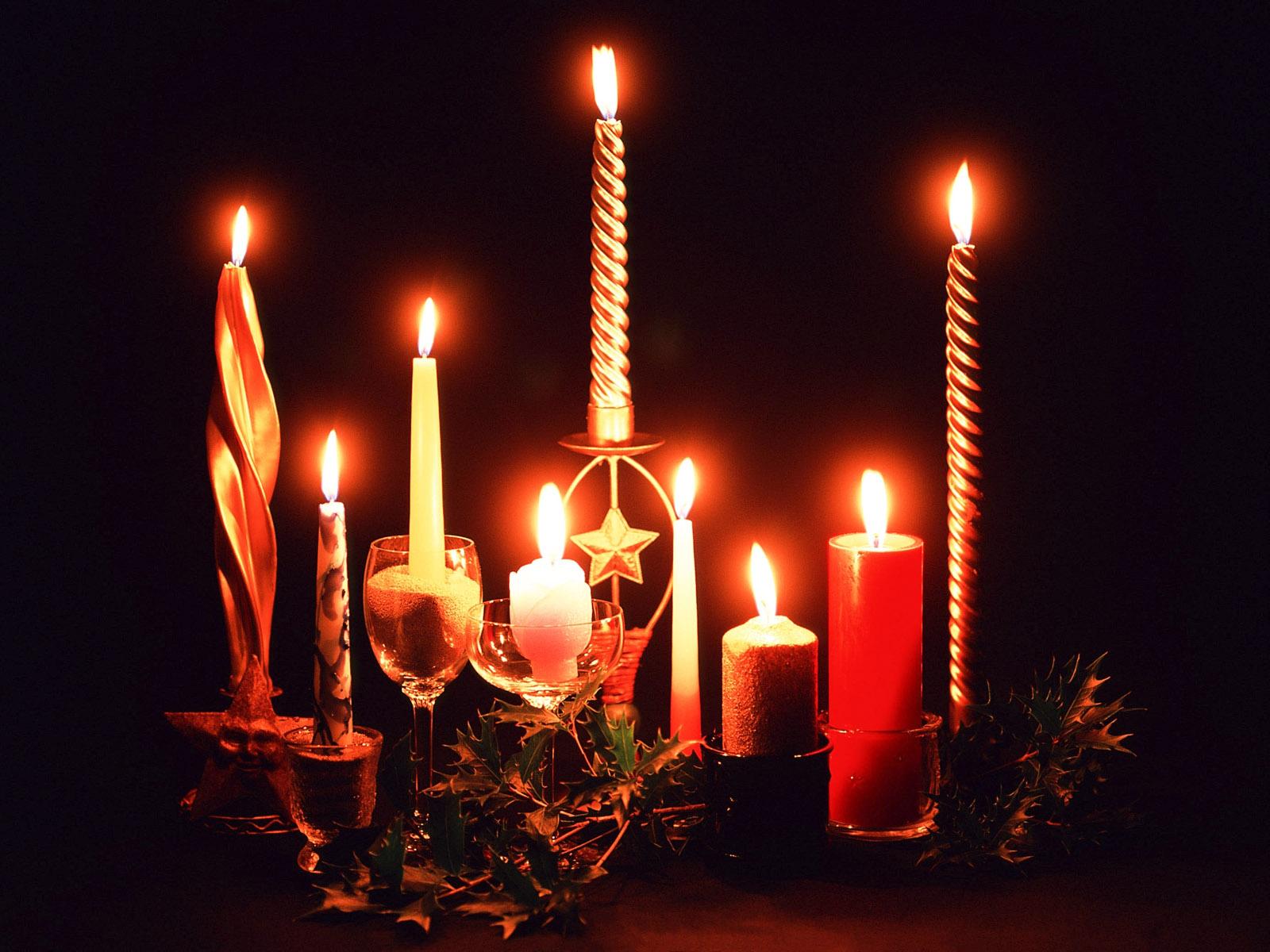 Como decorar las velas para navidad - 1600x1200