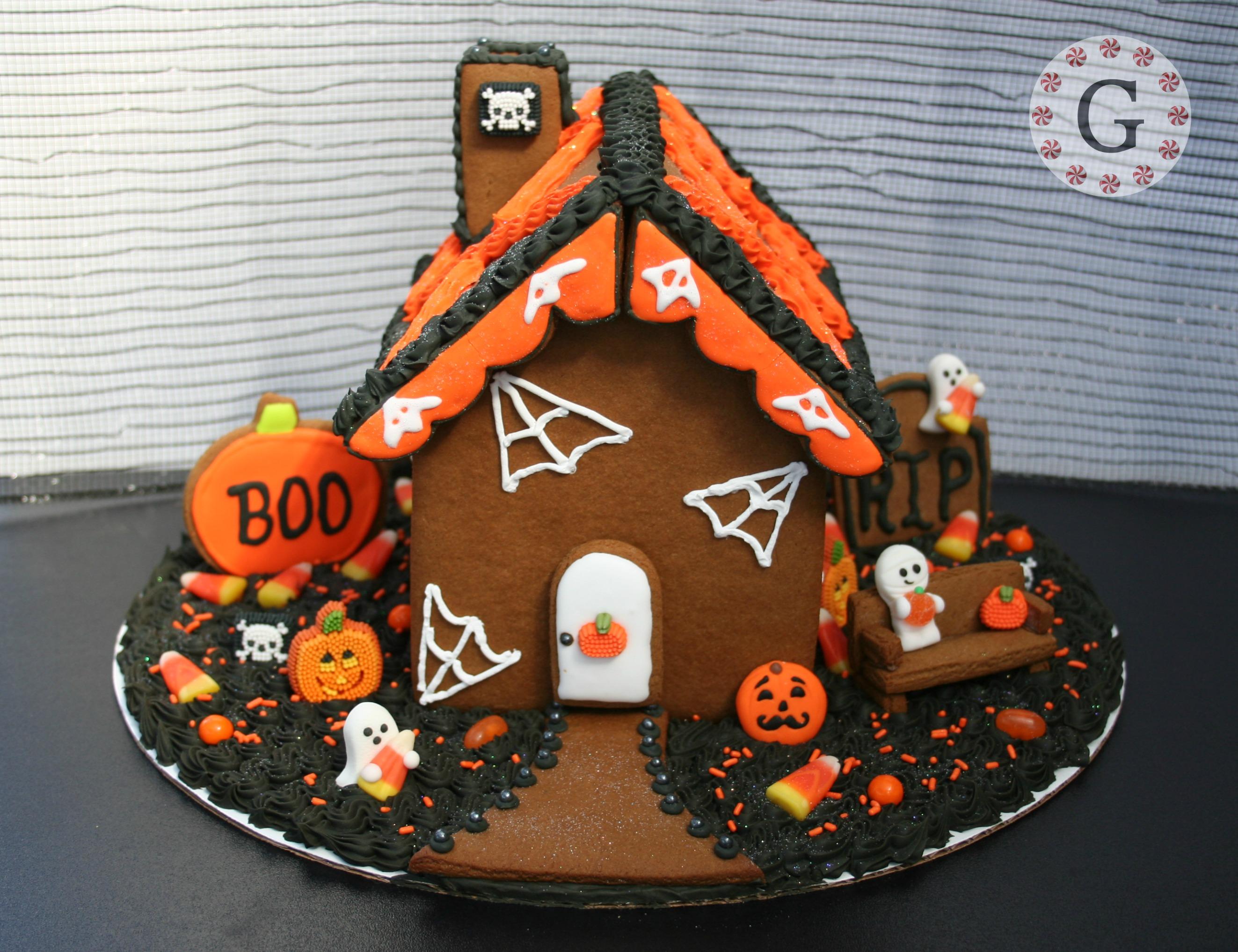 Decoración de torta por halloween - 2646x2035