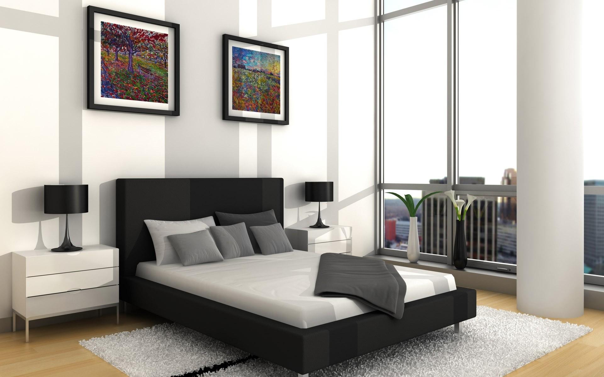 Diseño 3D de habitación - 1920x1200