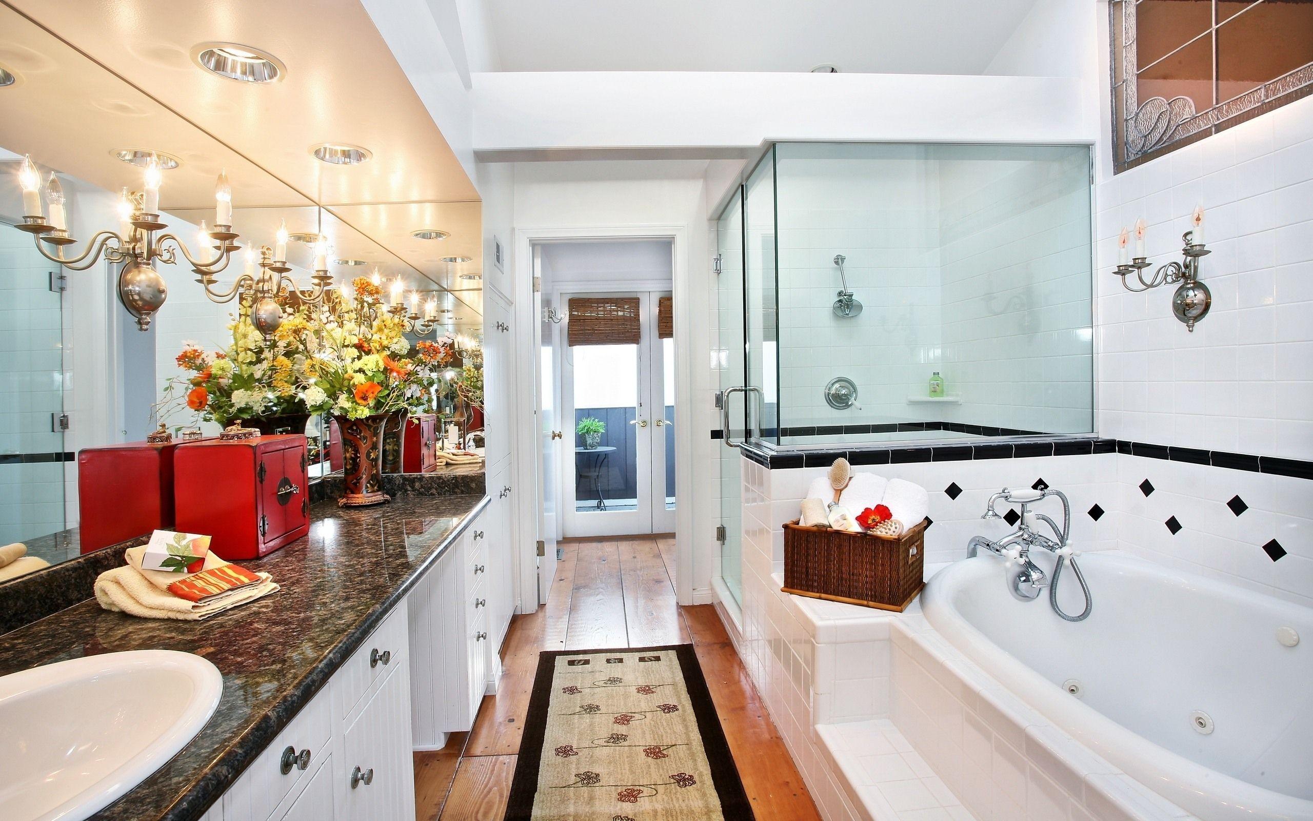 Diseño de baño y ducha - 2560x1600