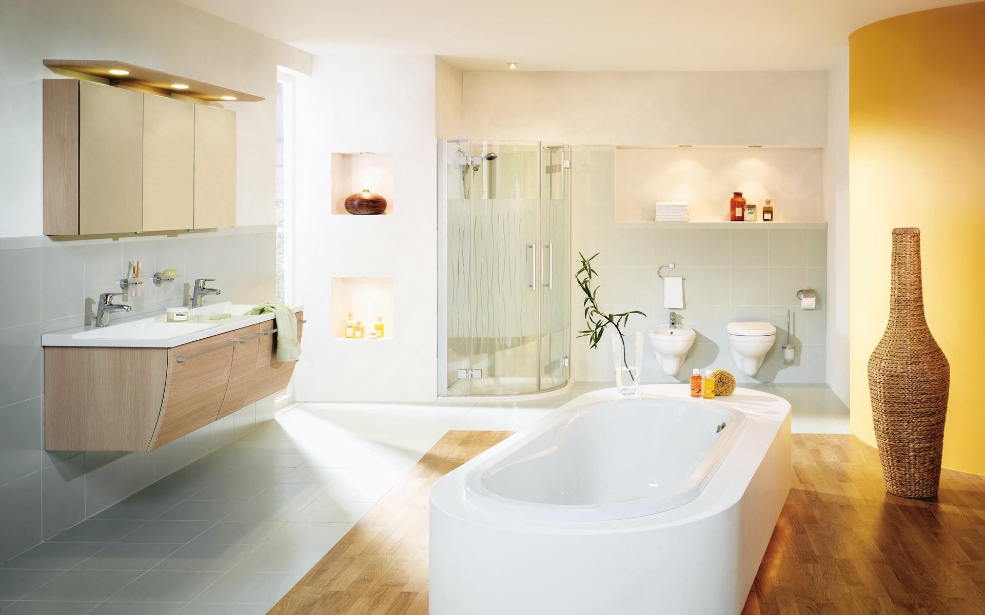 Diseño de un baño modernno - 1920x1200