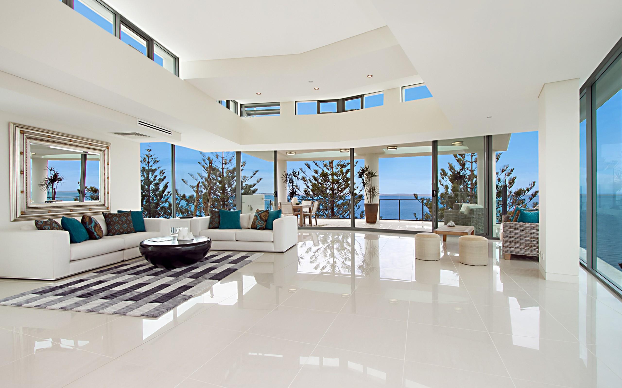 Diseño de una sala grande - 2560x1600