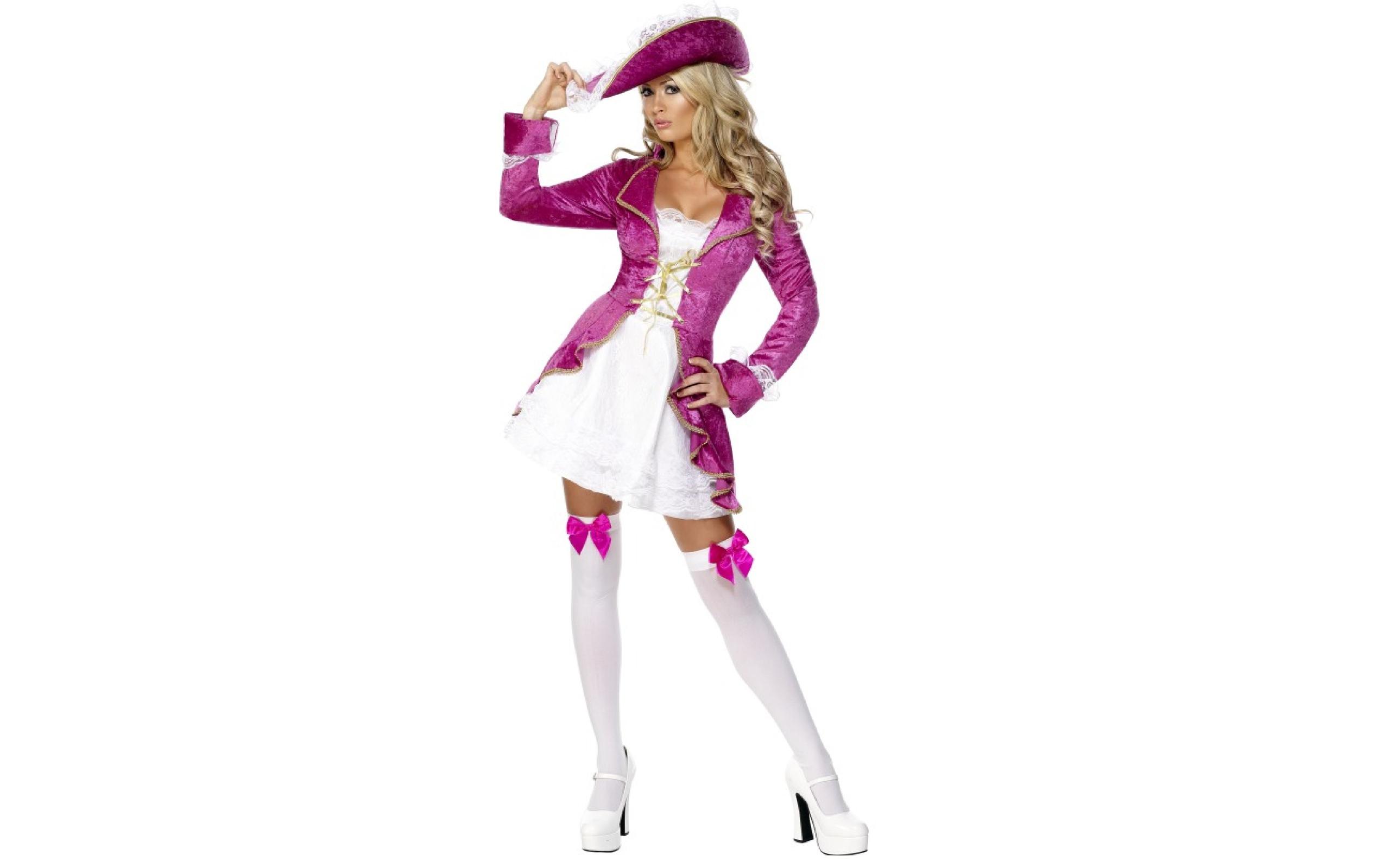 Disfraz de rubia pirata - 2560x1600