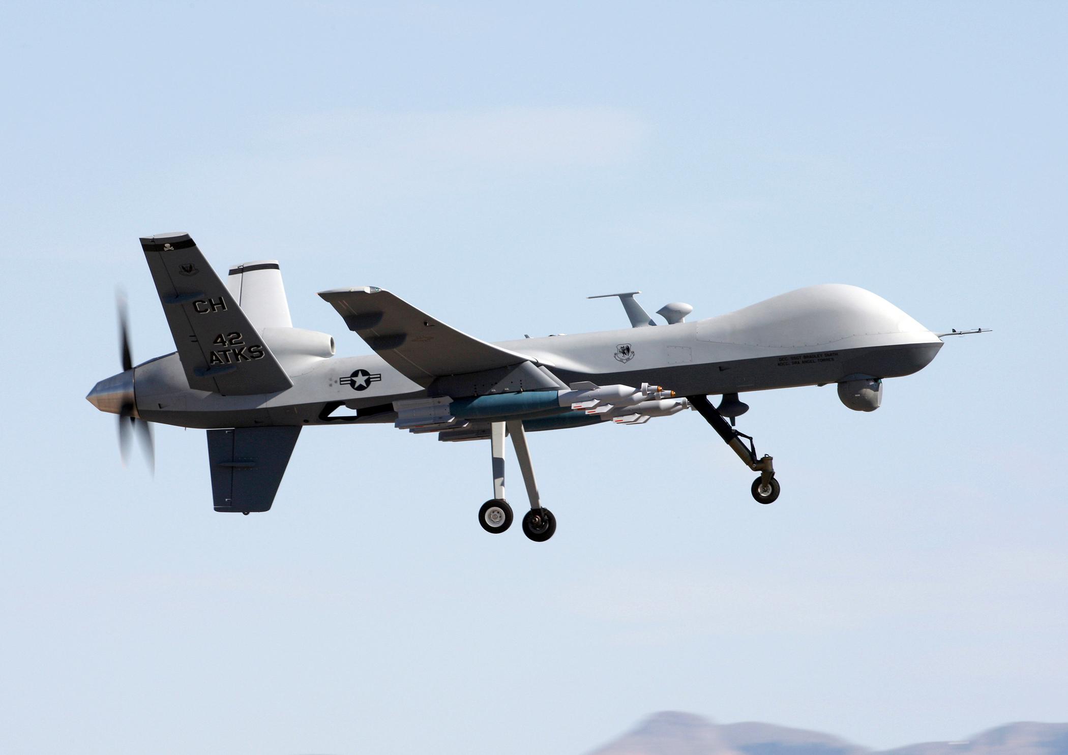 Drones tipo MQ-9 Reaper - 2100x1485