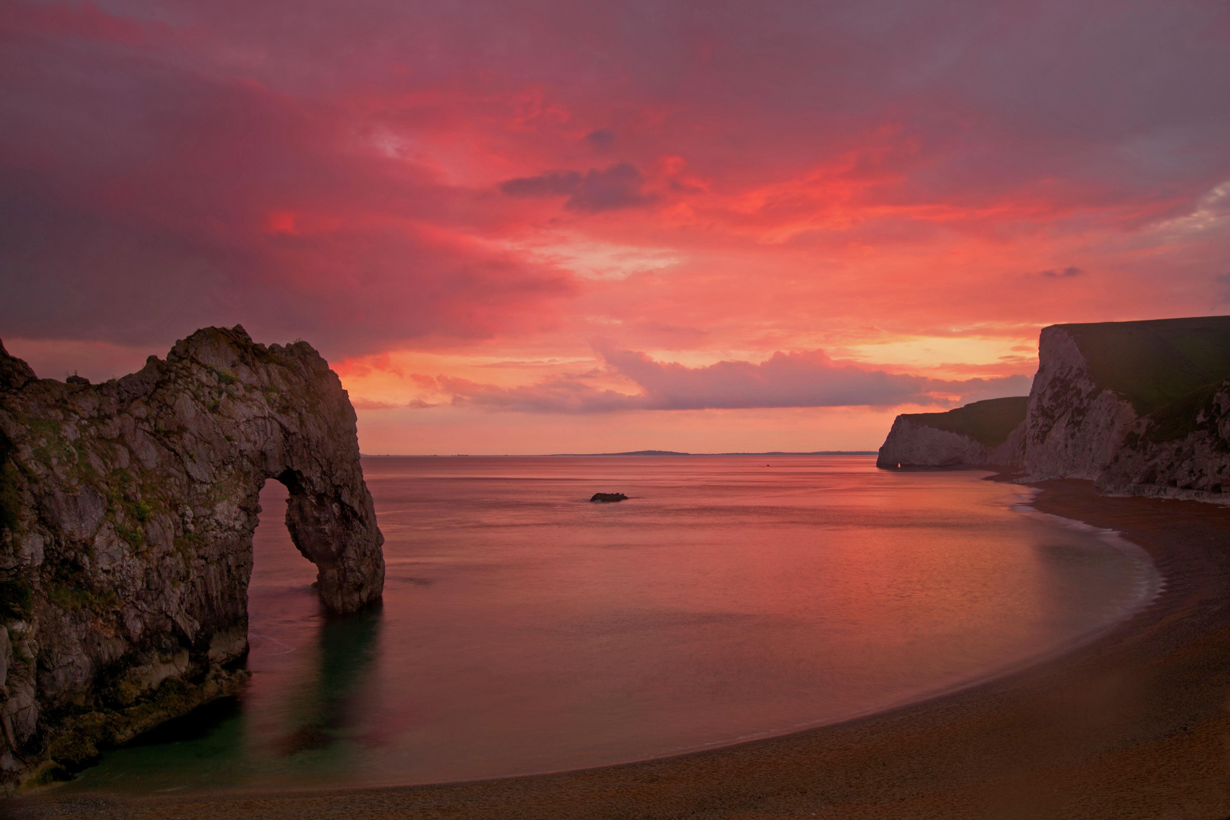 Durdle Dore sunset Dorset - 5184x3456
