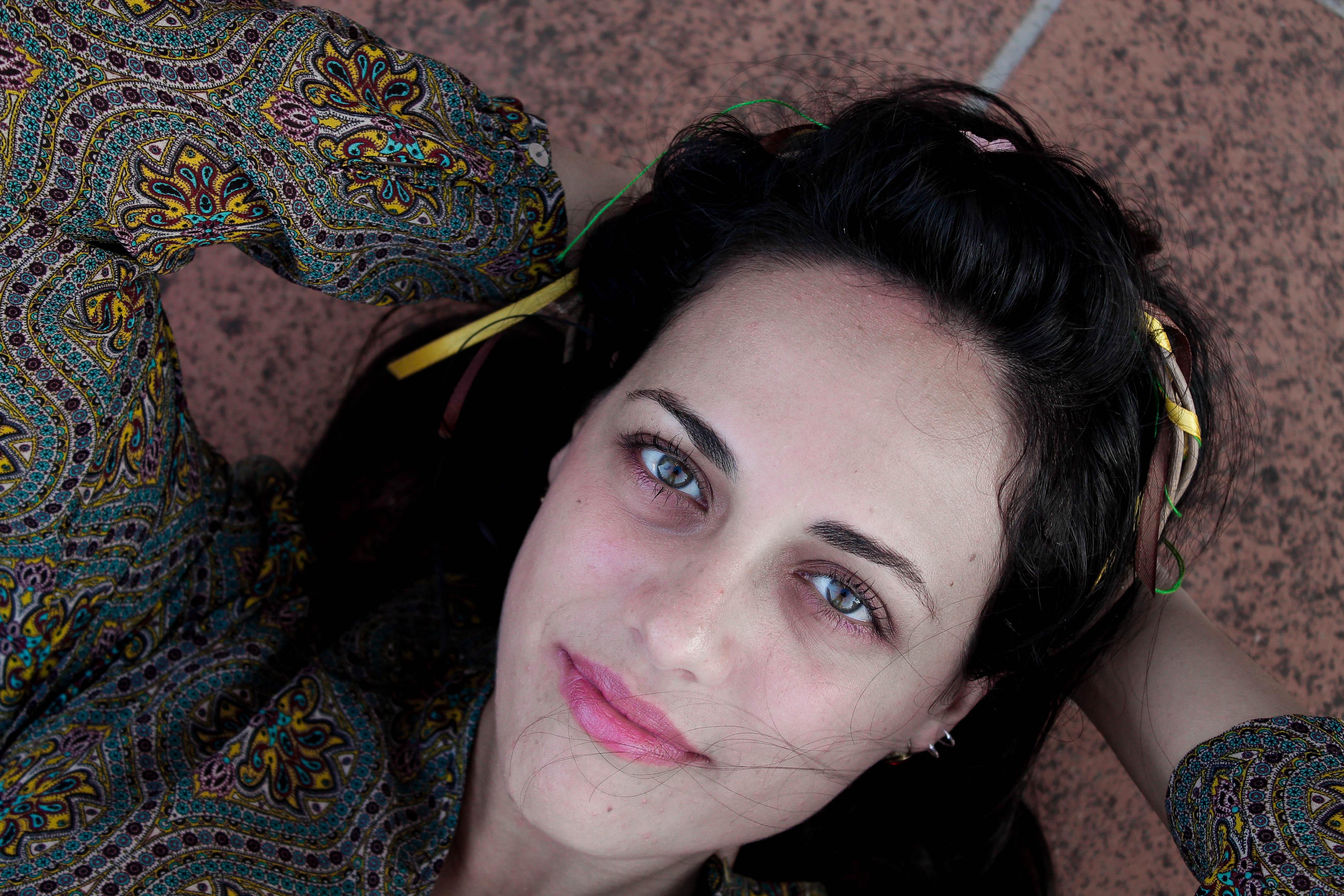 El bello rostro de esta mujer - 4272x2848