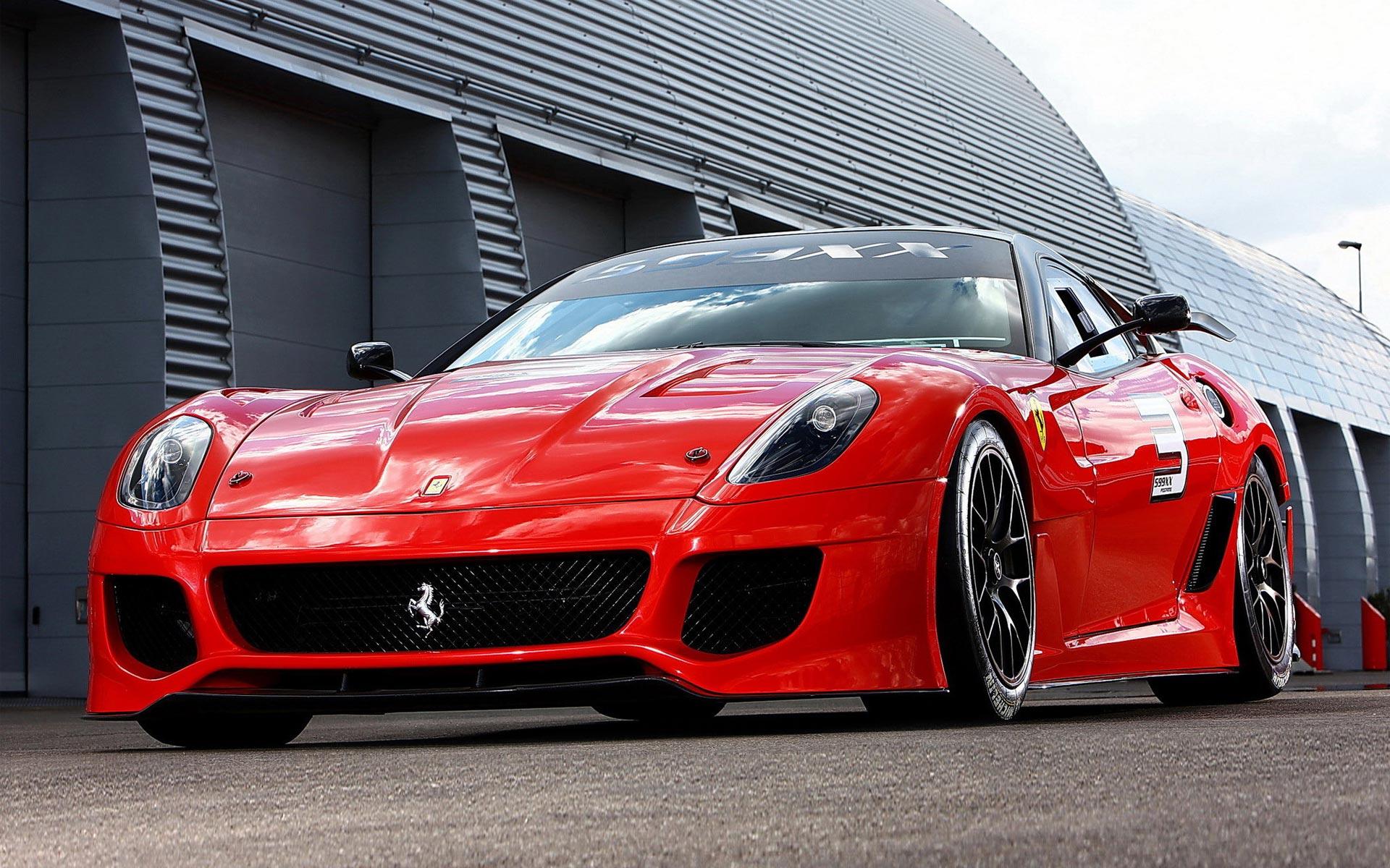 El Ferrari Rojo - 1920x1200