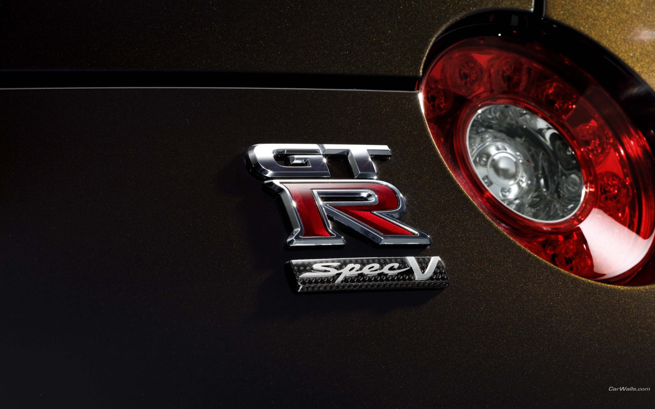 El logo de GT R Speed V - 1280x800