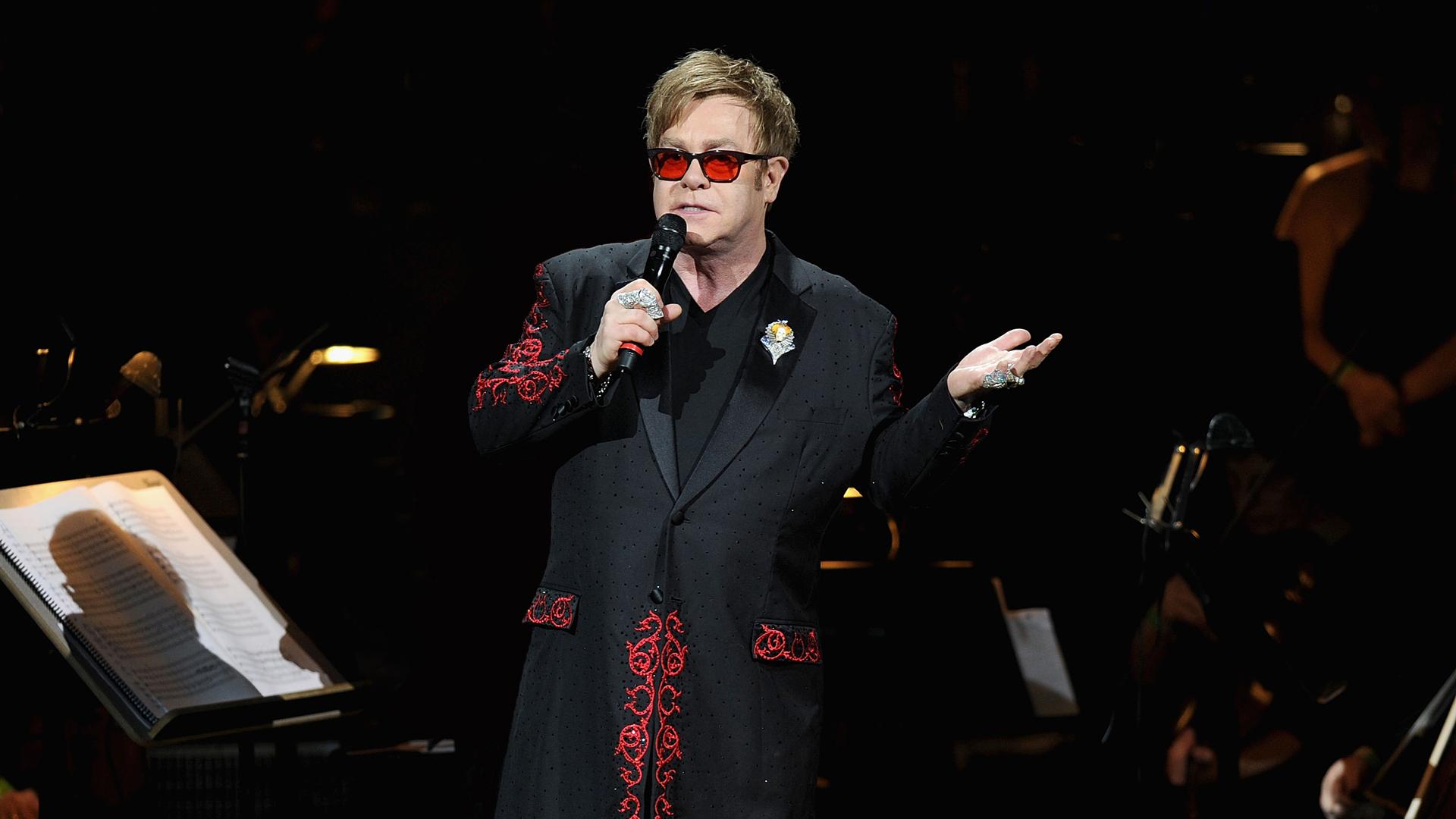 Elton John - 1920x1080