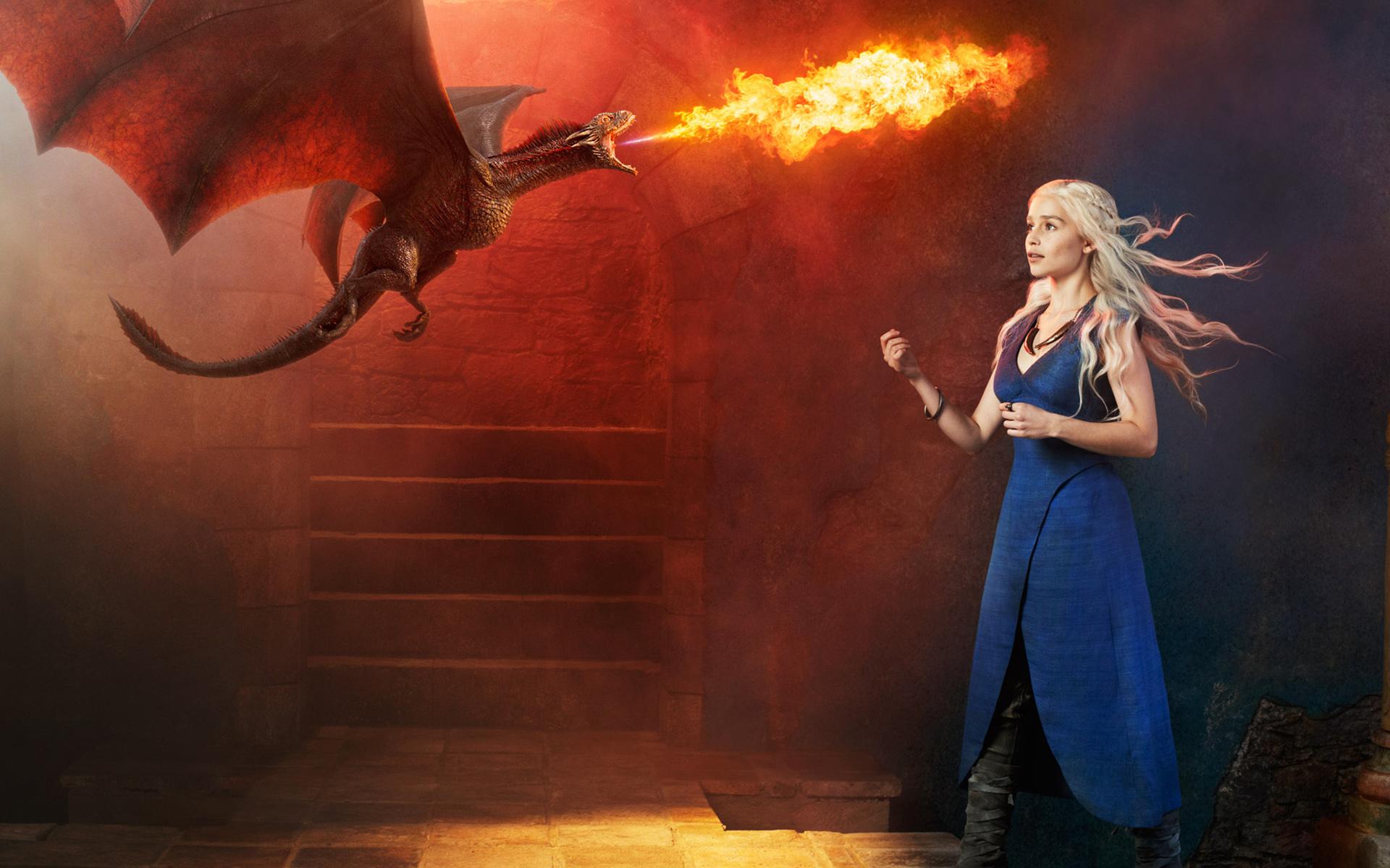 Emilia Clark es Daenerys - 1920x1200