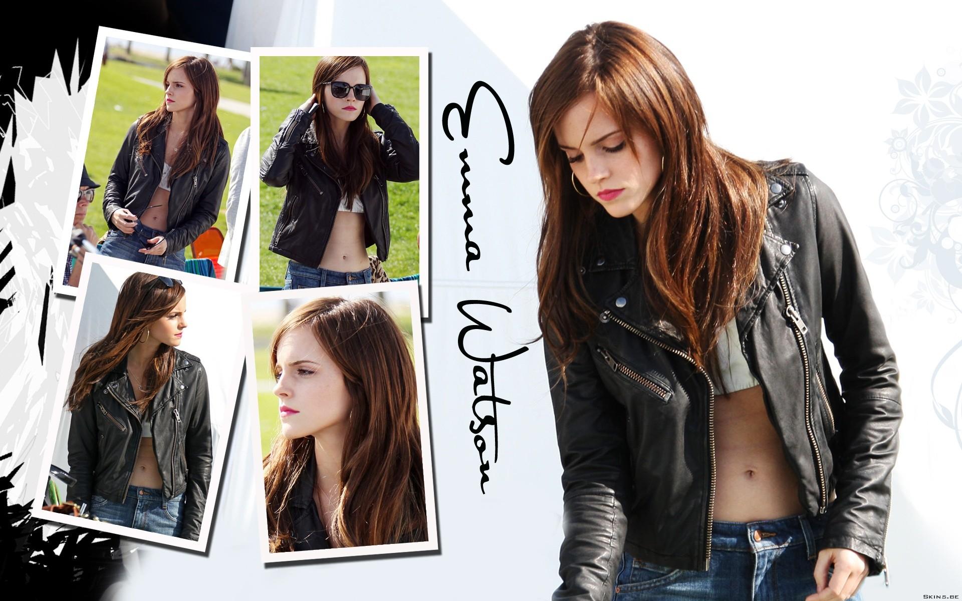 Emma Watson collage - 1920x1200