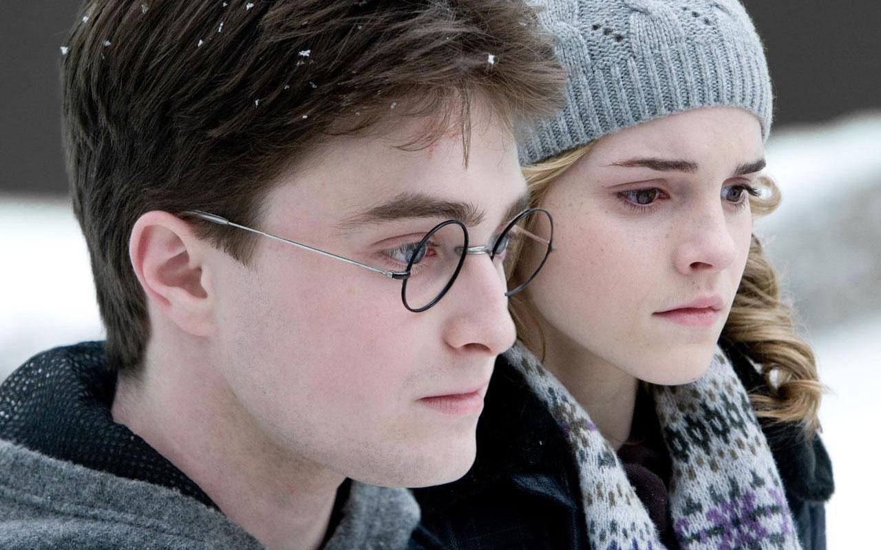 Emma Watson y Daniel Radcliffe - 1280x800