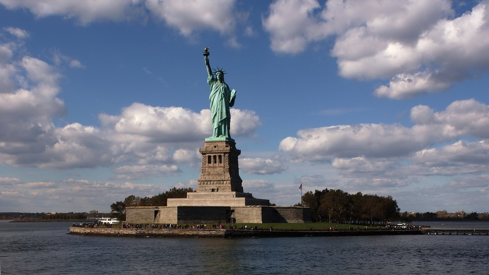 Estatua de la Libertad New York - 1920x1080