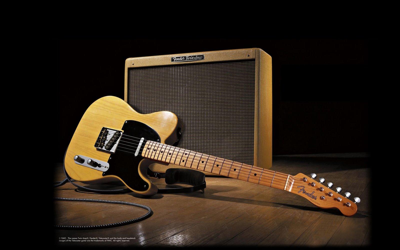 Fender Telecaster - 1600x1000