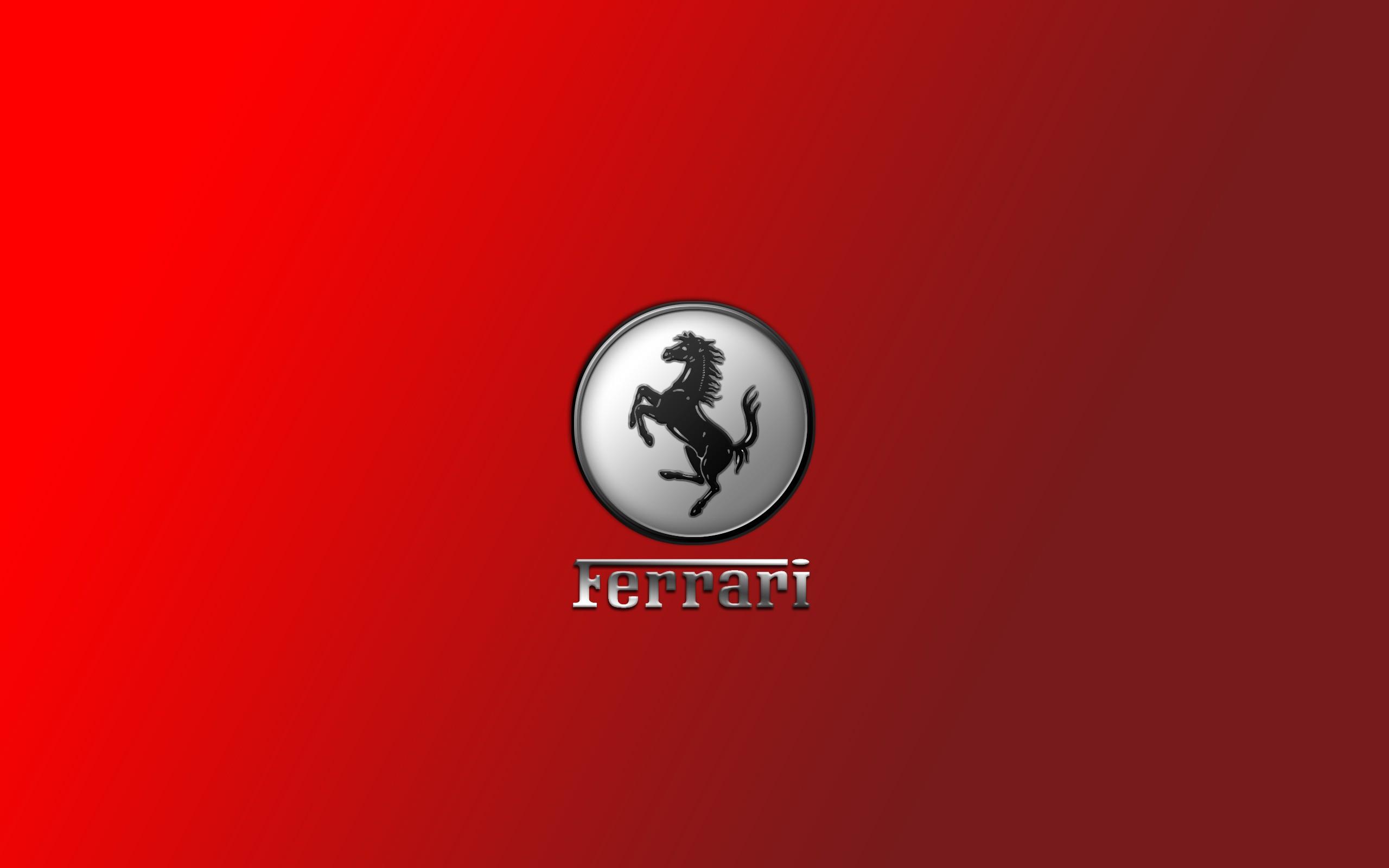 Ferrari Logo - 2560x1600