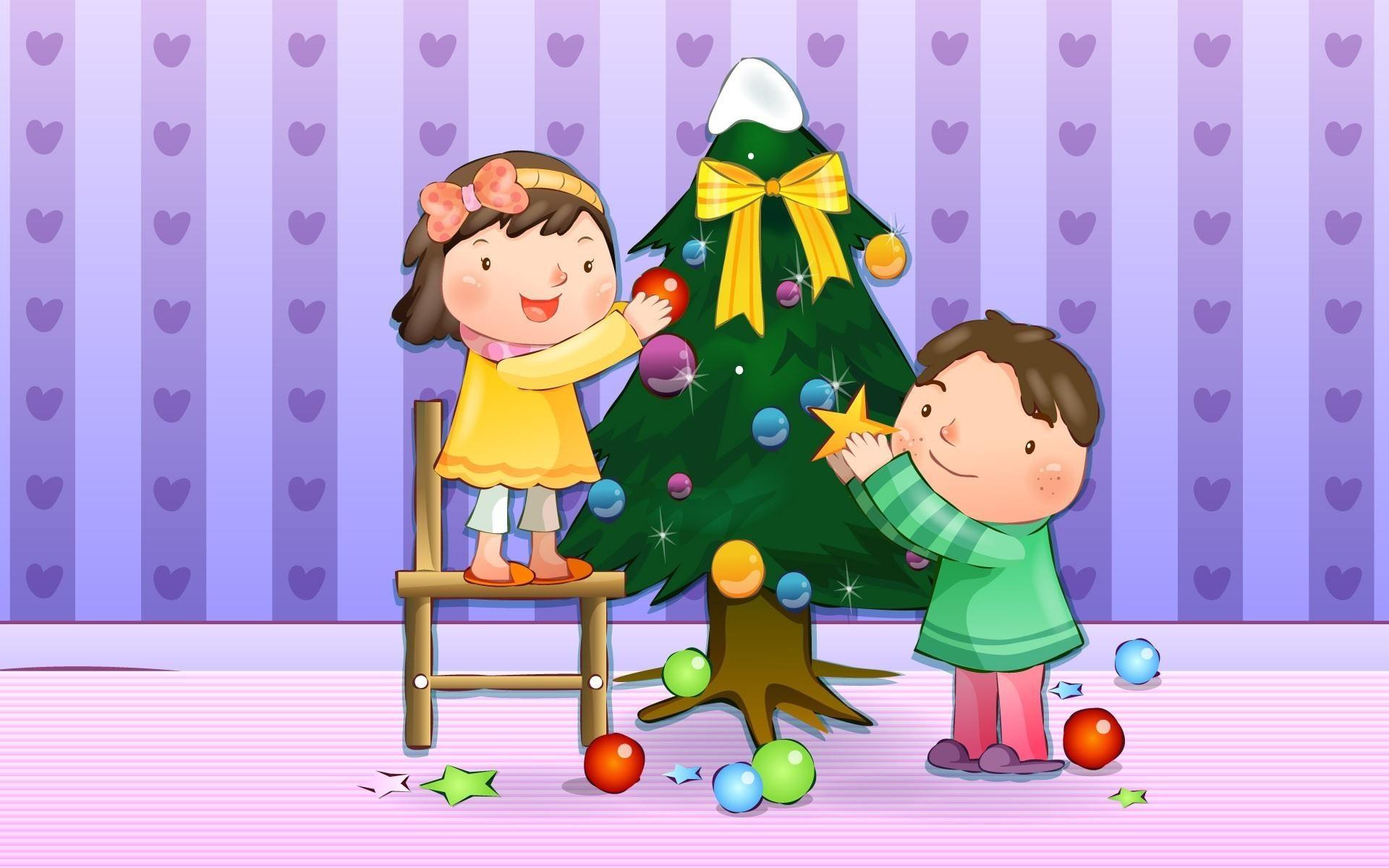 Fondos para niños en Navidad - 1920x1200