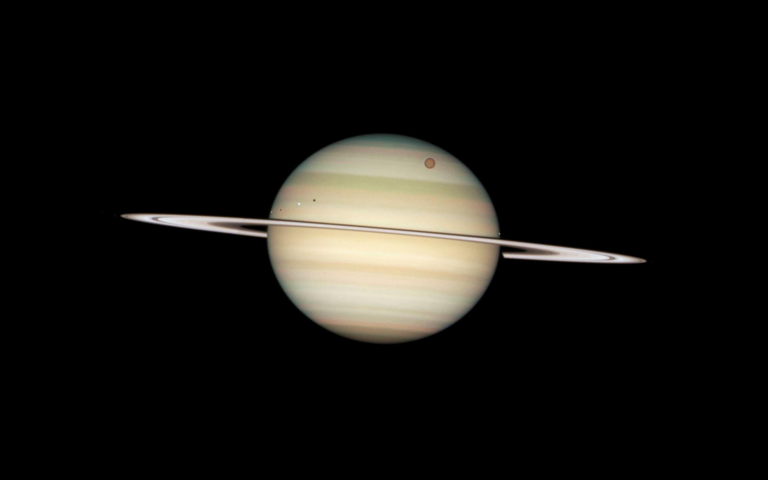 Fotografía de Saturno - 2560x1600