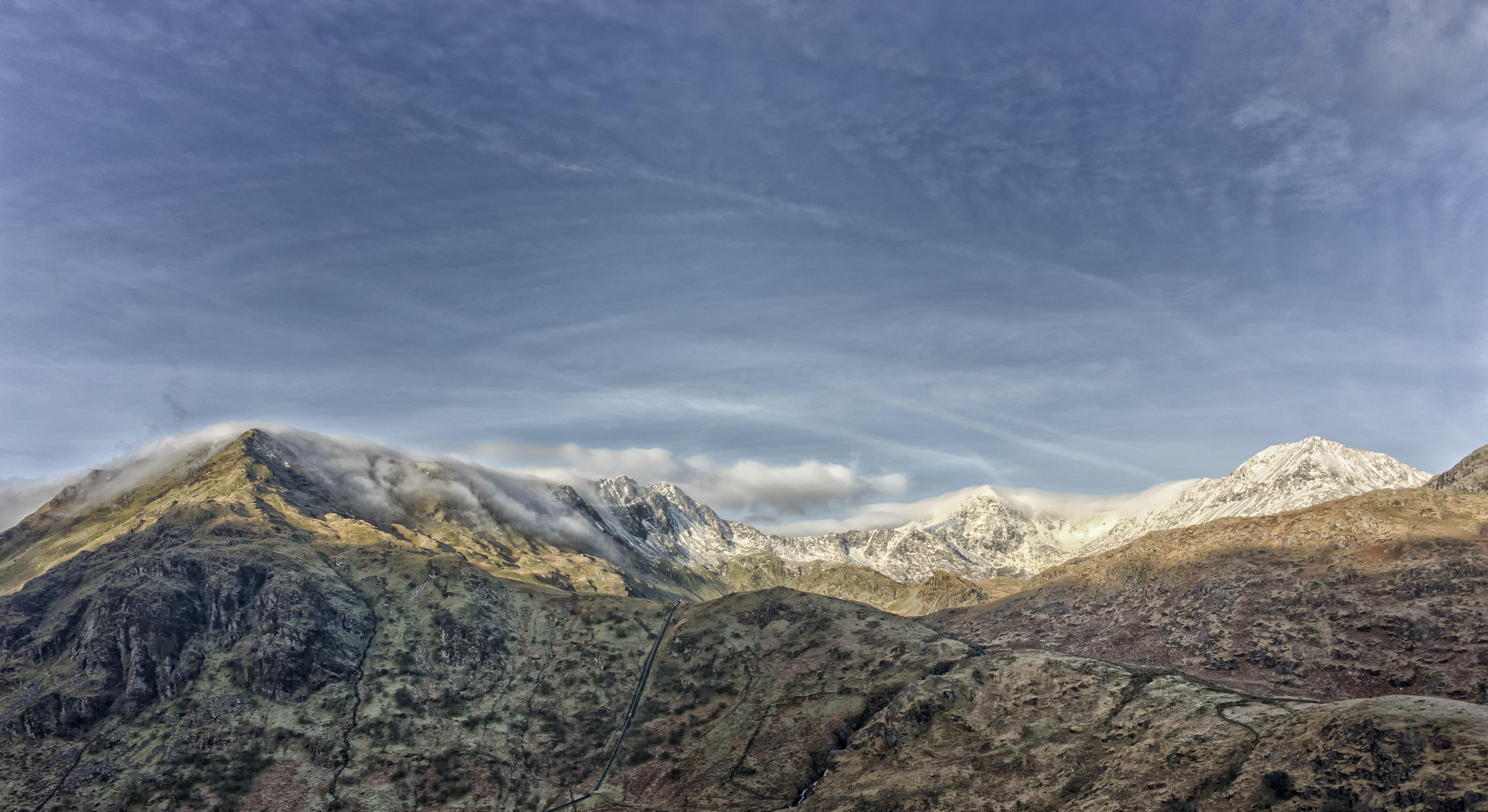 Fotografías de Snowdon - 4927x2690