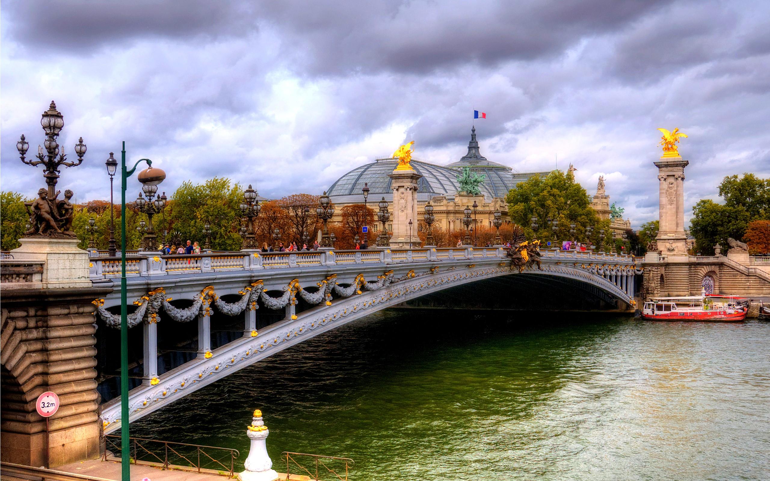 Fotografías HDR de puentes - 2560x1600