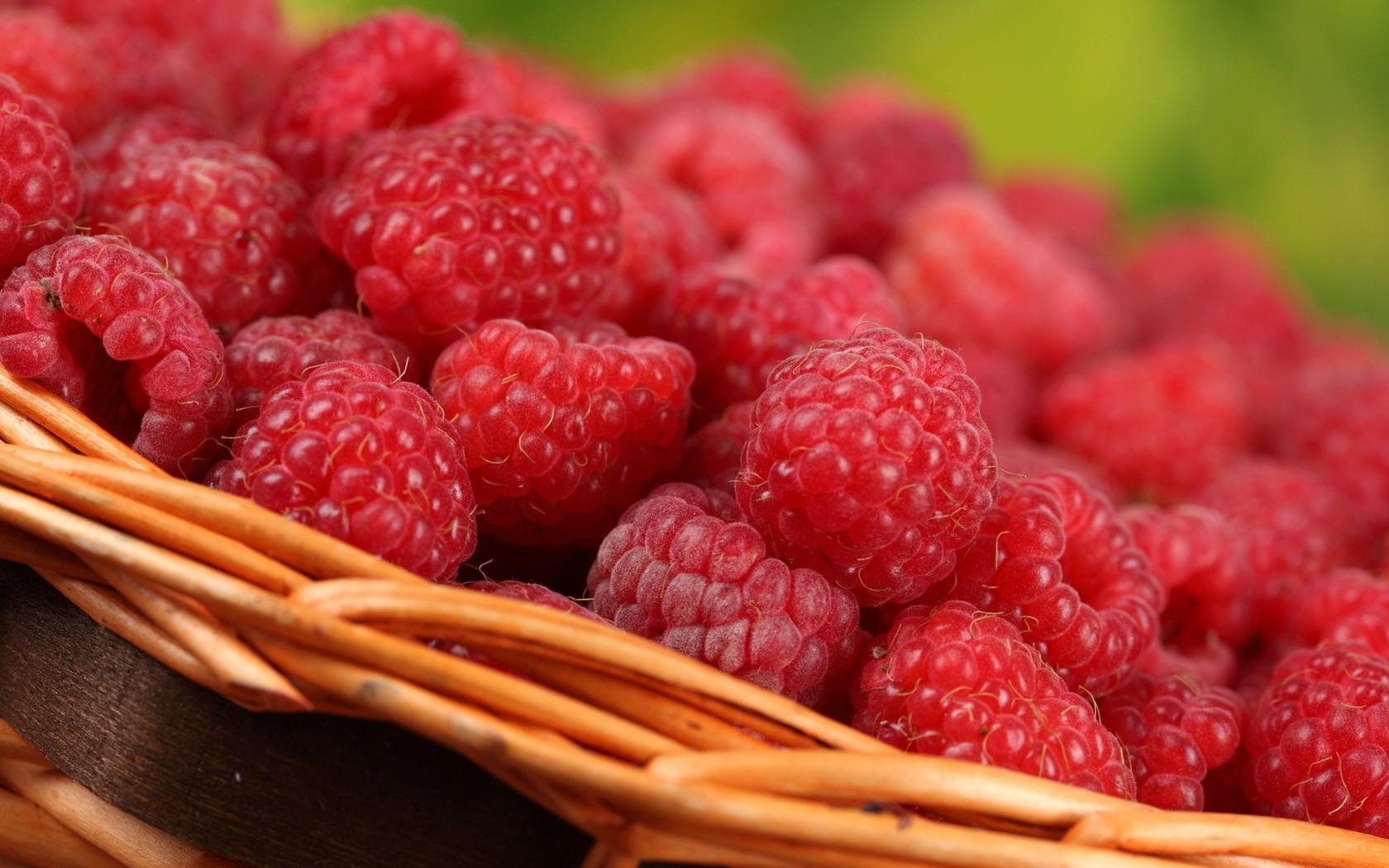 Fruta Frambuesas - 1680x1050