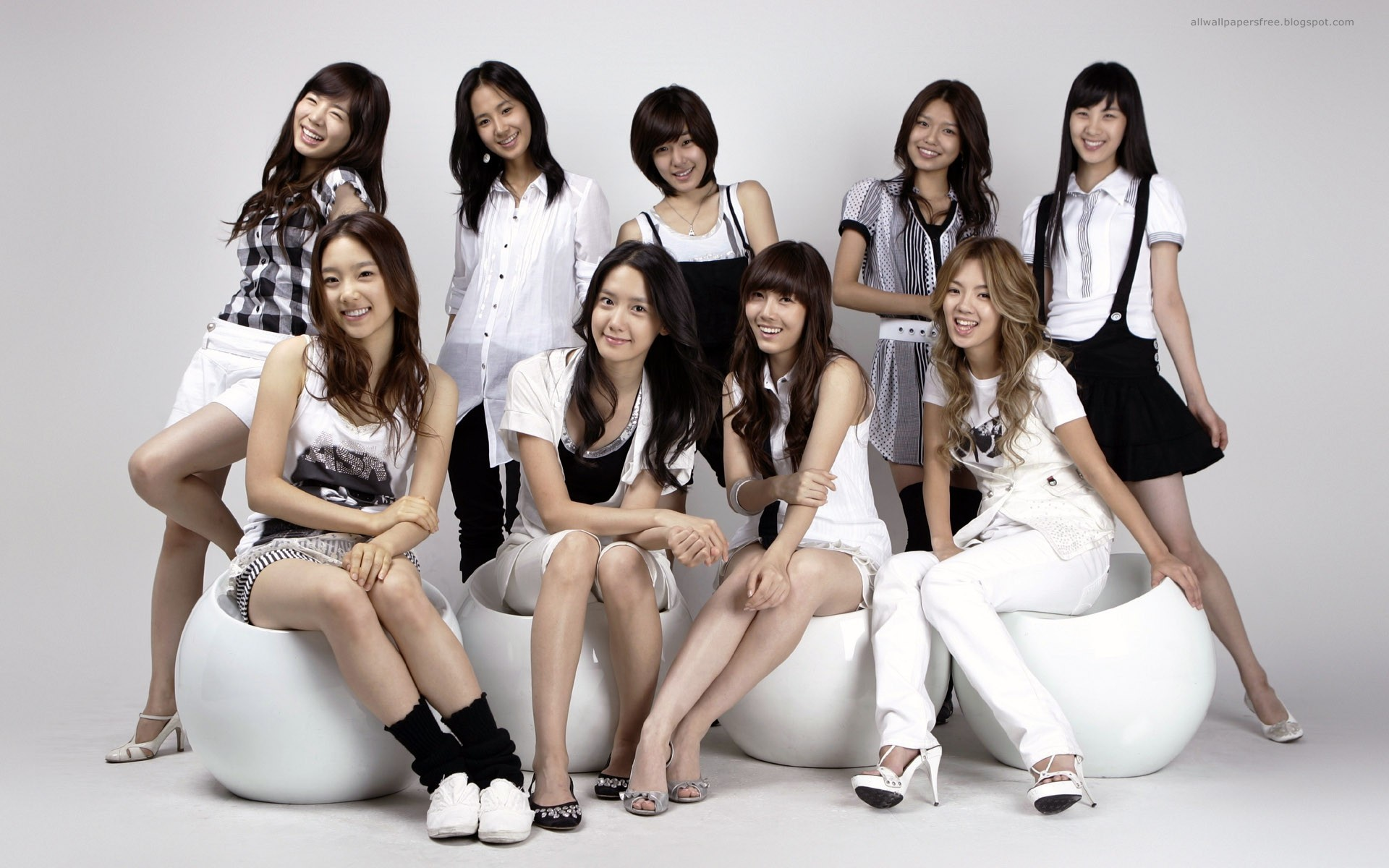 Asiaticas girls generation girl girls 1920x1200