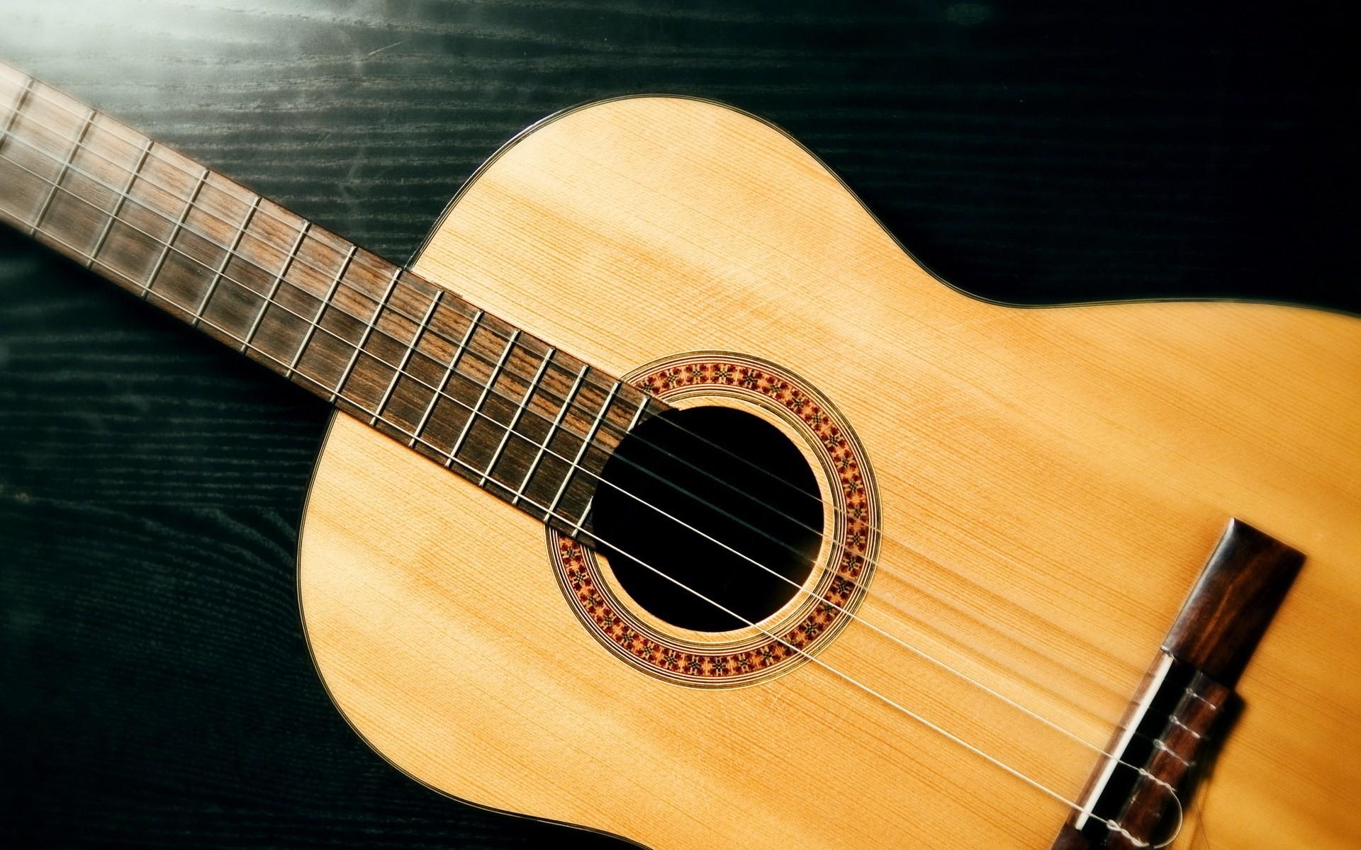 Guitarra acustica - 1920x1200