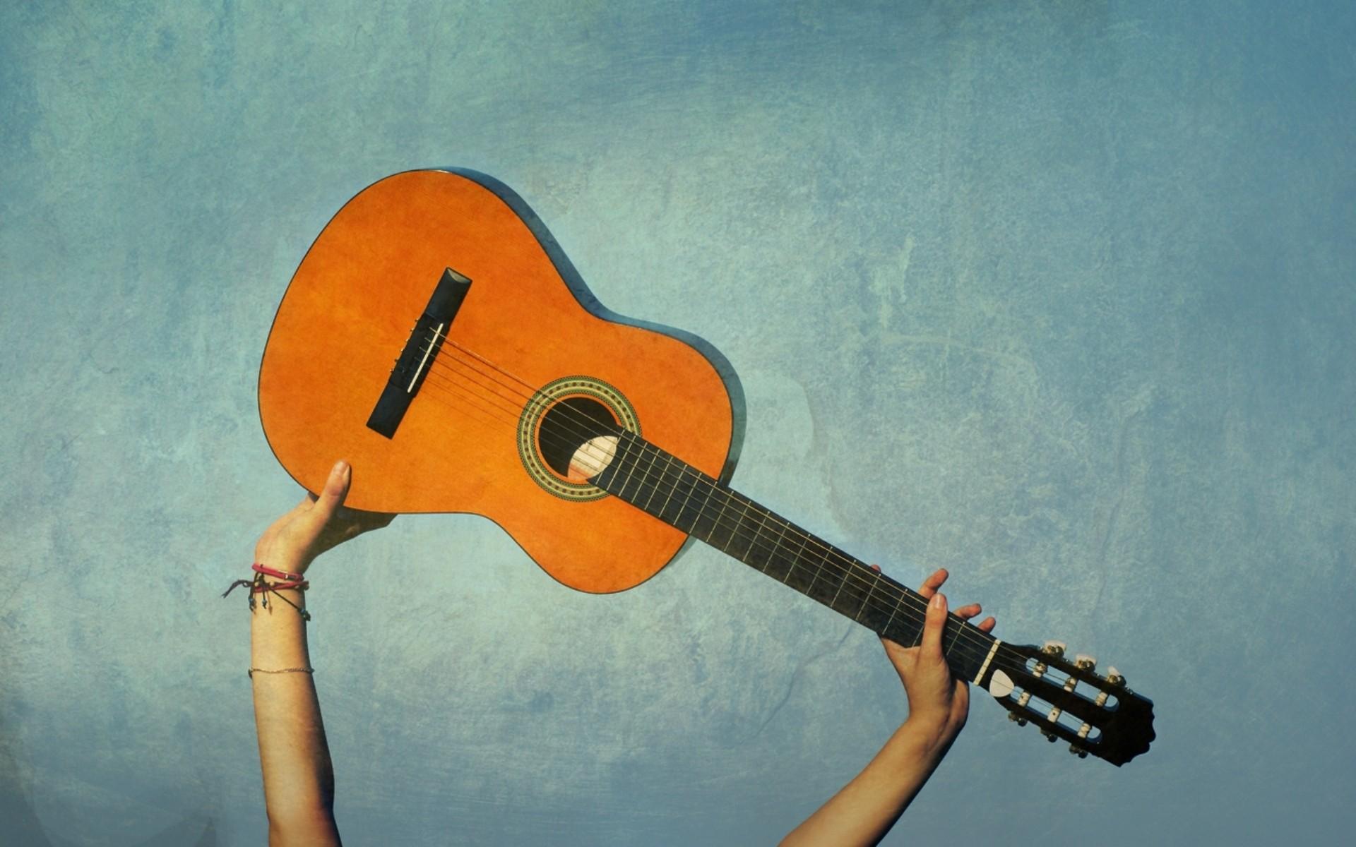 Guitarra clásica española - 1920x1200