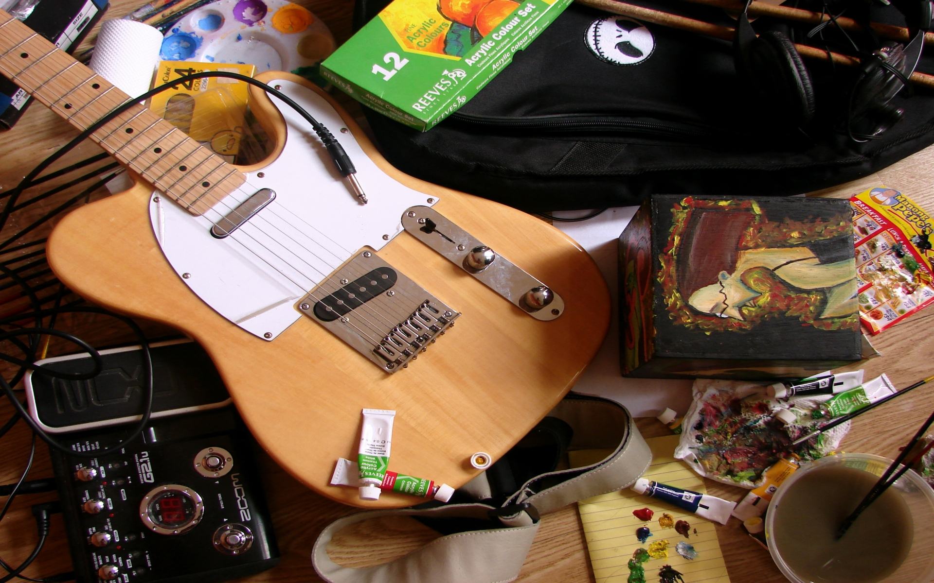 Guitarra Telecaster - 1920x1200