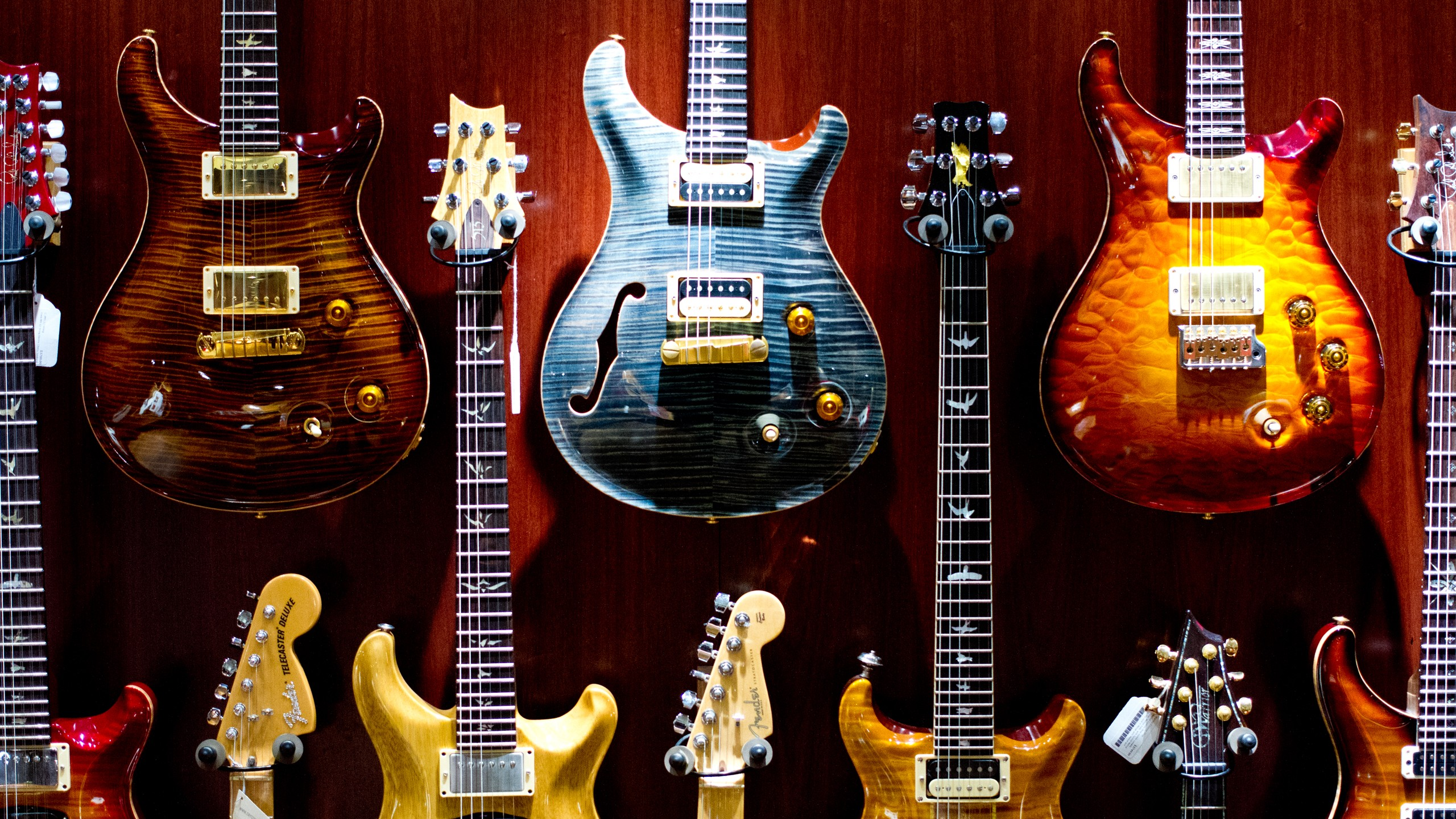 Guitarras de Rock - 2560x1440