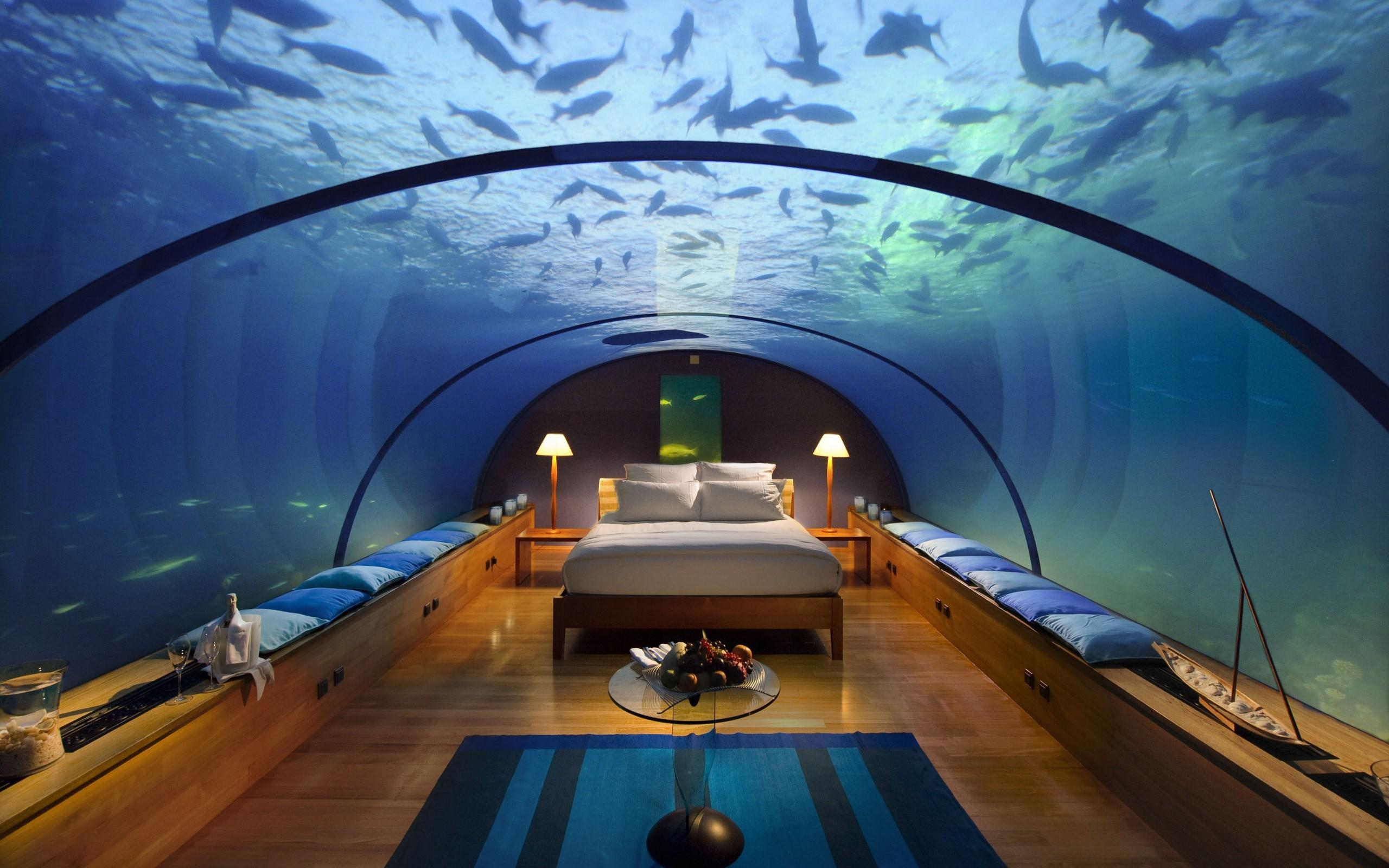 Habitacion con panorama acuatico - 2560x1600