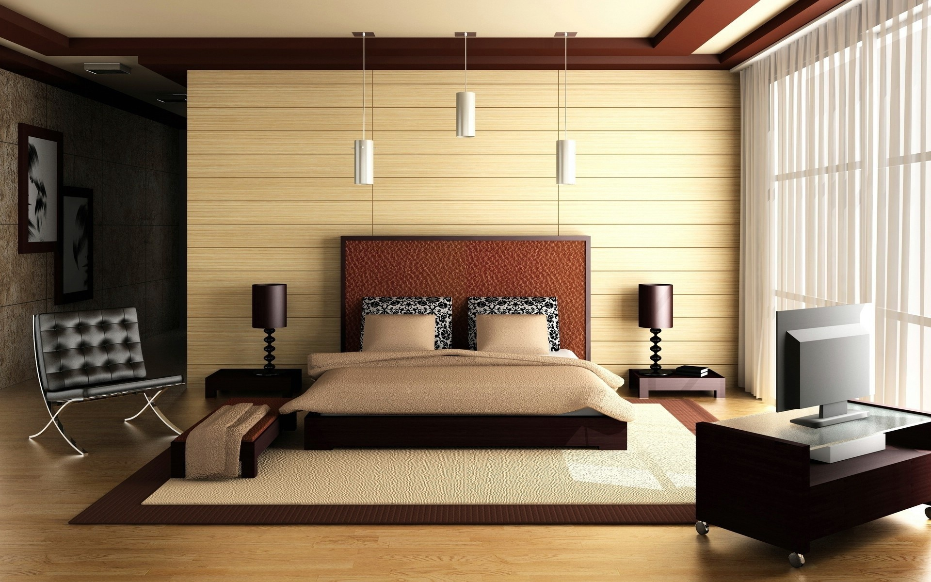 Habitaci n matrimonial 3d hd 1920x1200 imagenes for Matrimonial bedroom design