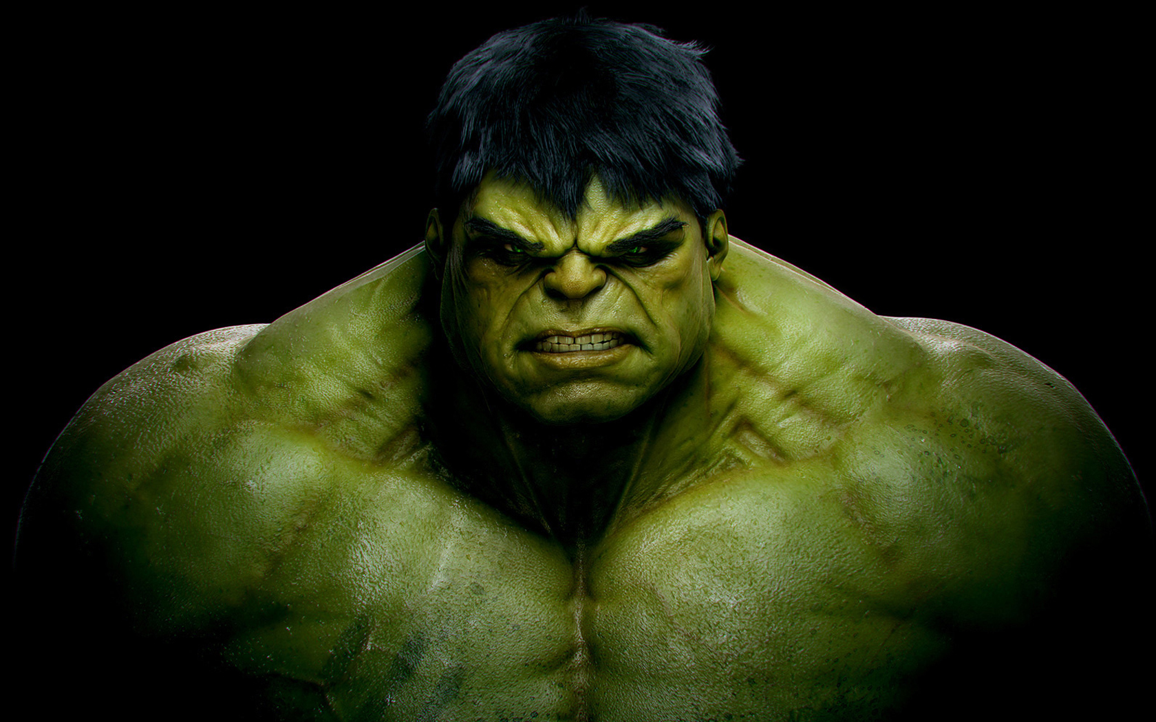 Hulk muy enfadado - 1680x1050