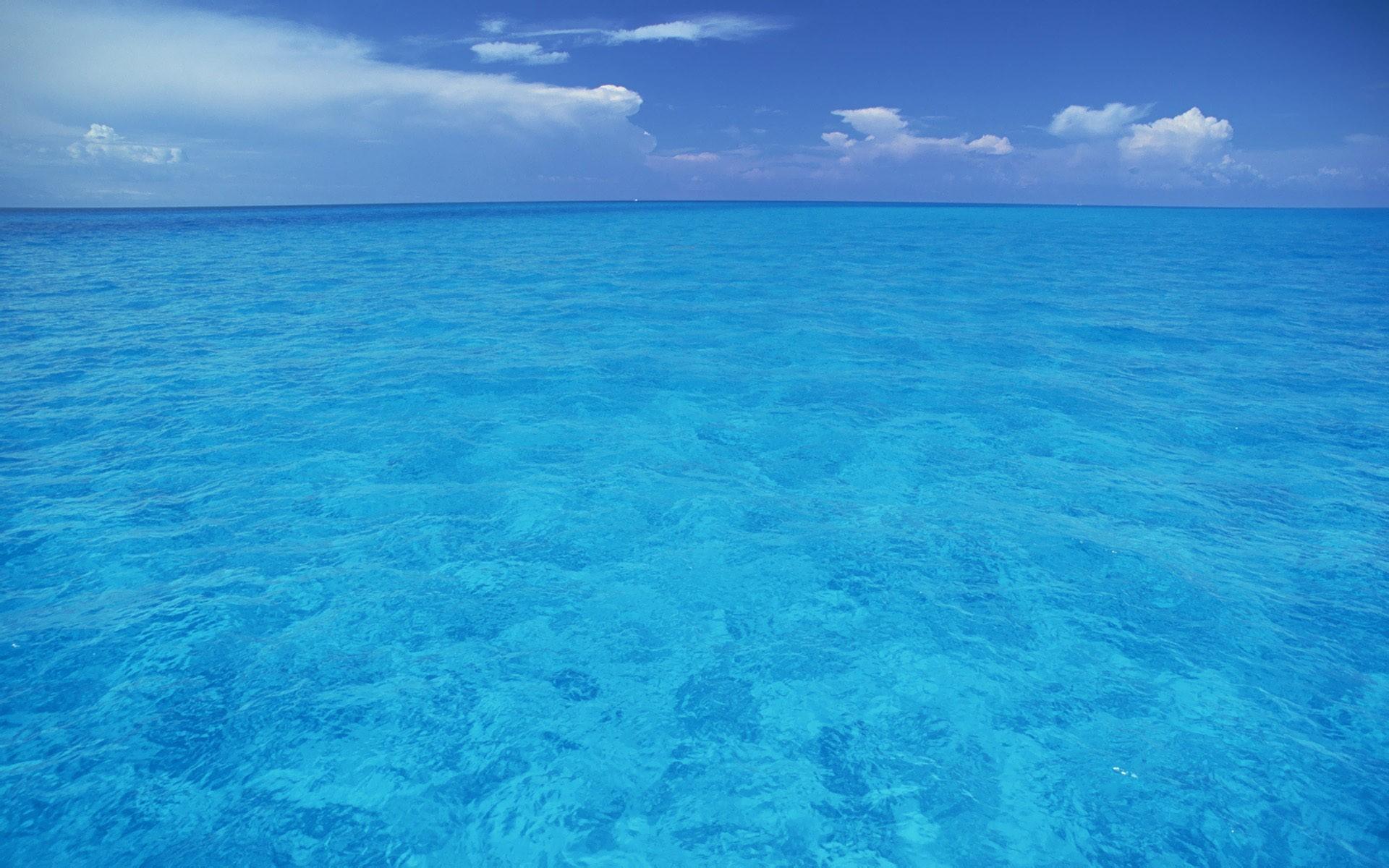 Inmenso mar azul - 1920x1200