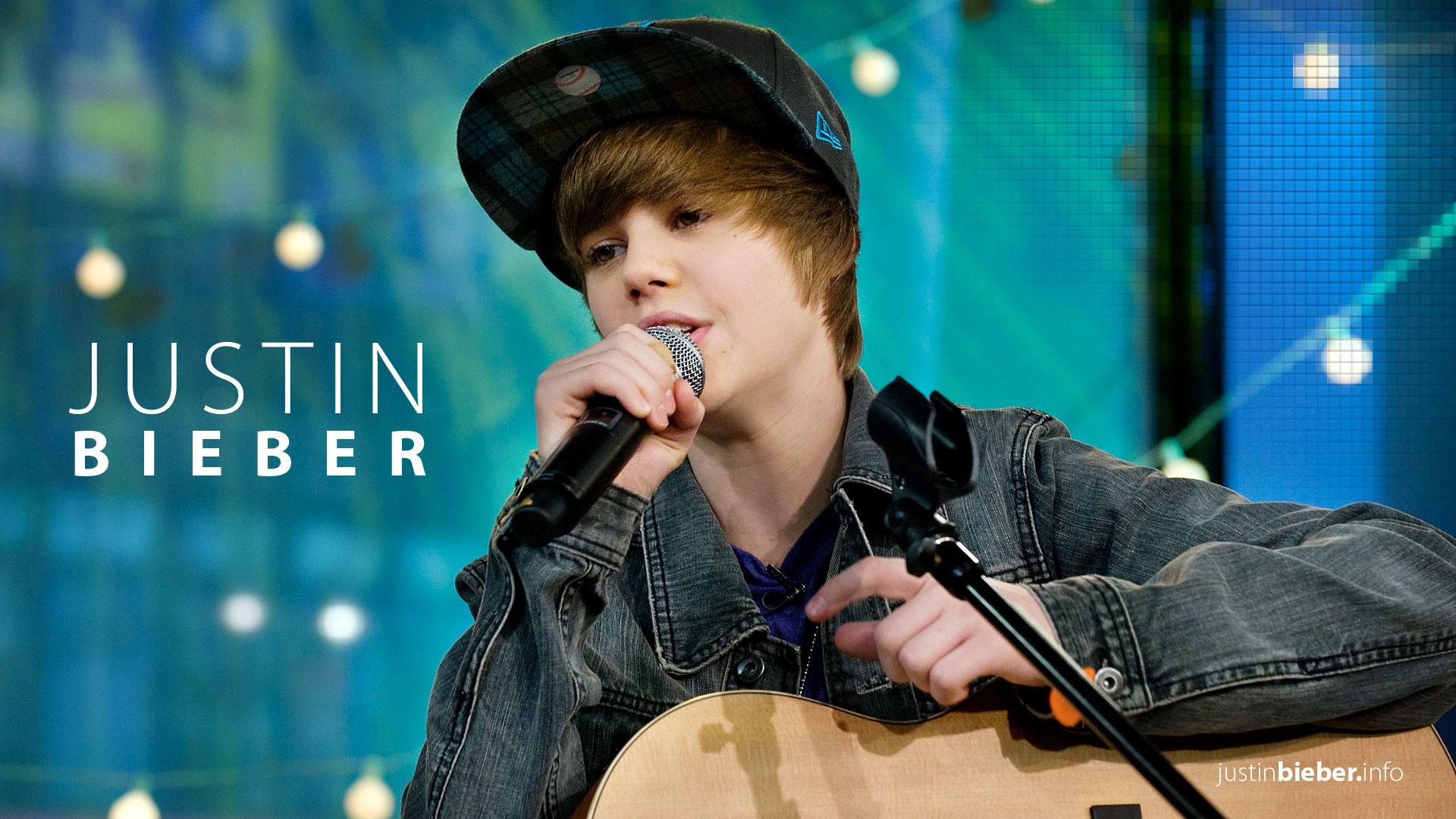 Justin Bieber en su juventud - 1920x1080