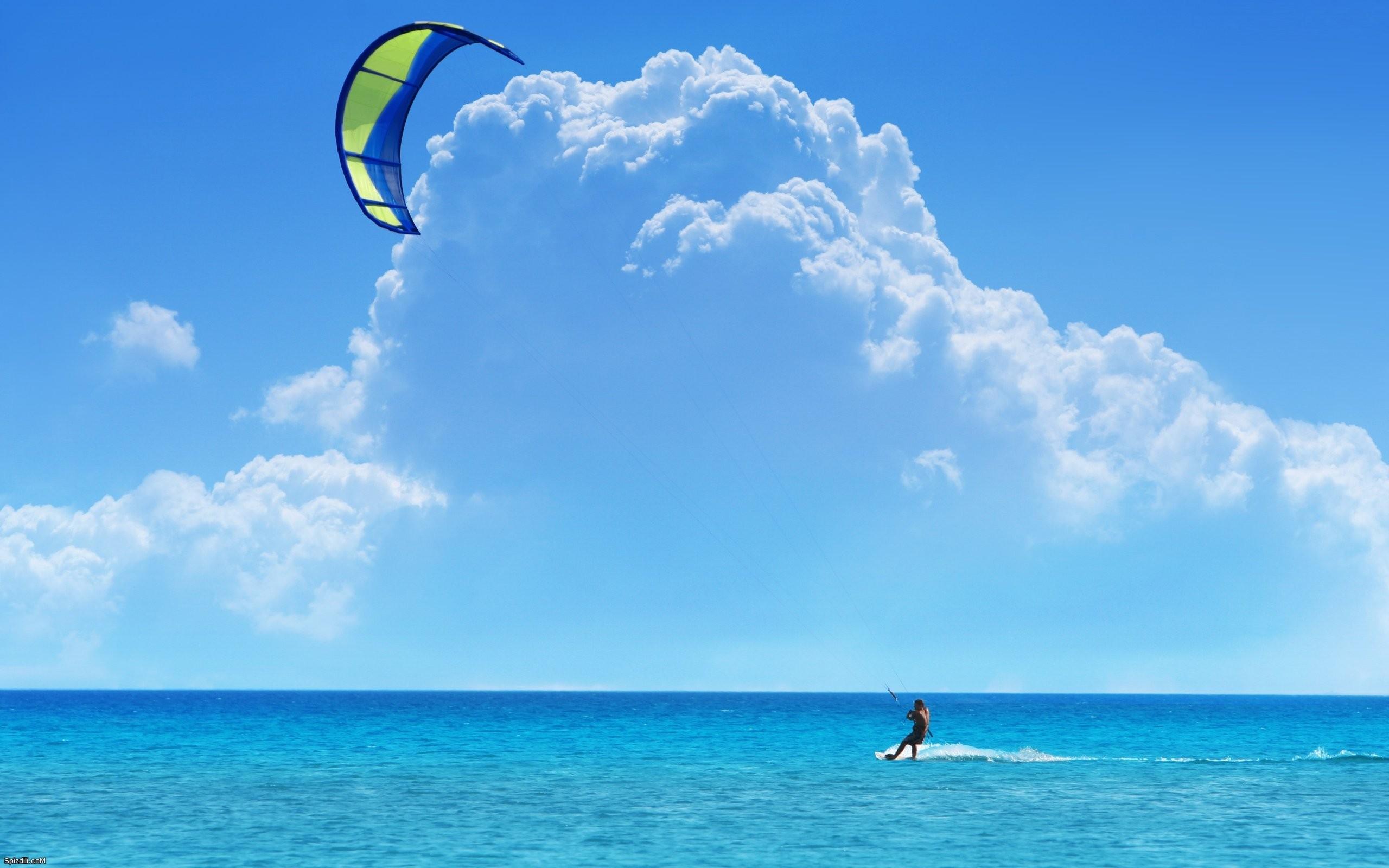 Kite Surfing - 2560x1600