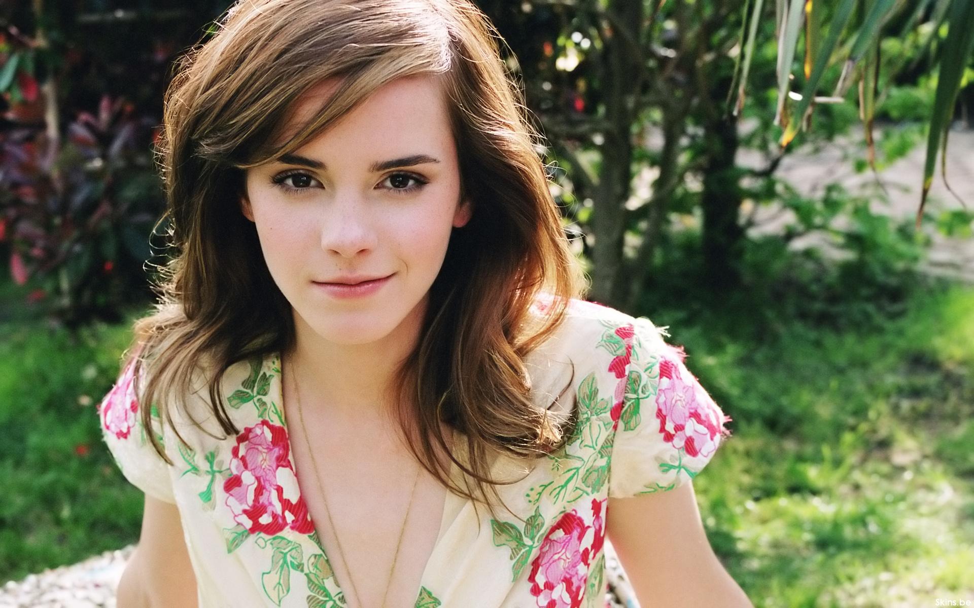 La actriz Emma Watson - 1920x1200