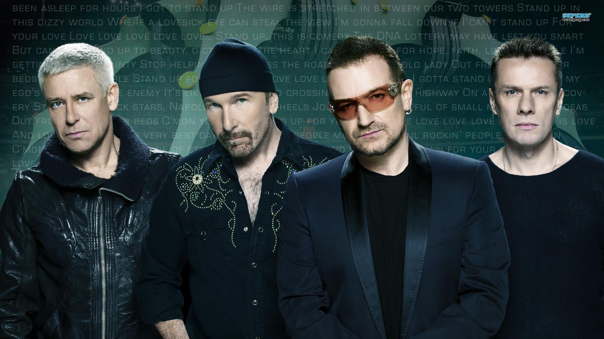 La Banda Rock U2 - 1920x1080