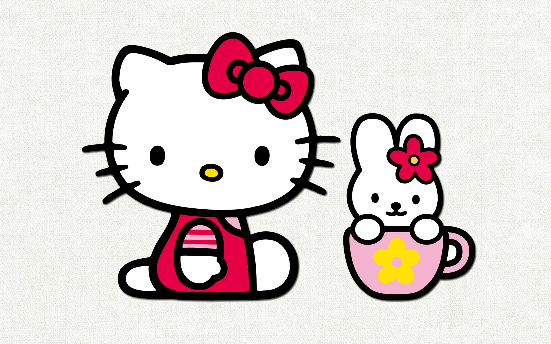 La gatita de Hello Kitty - 1920x1200