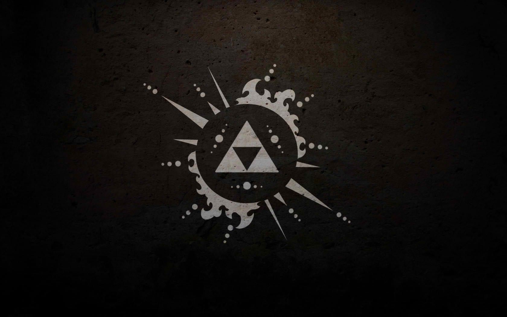 La leyenda de Zelda logo - 1680x1050