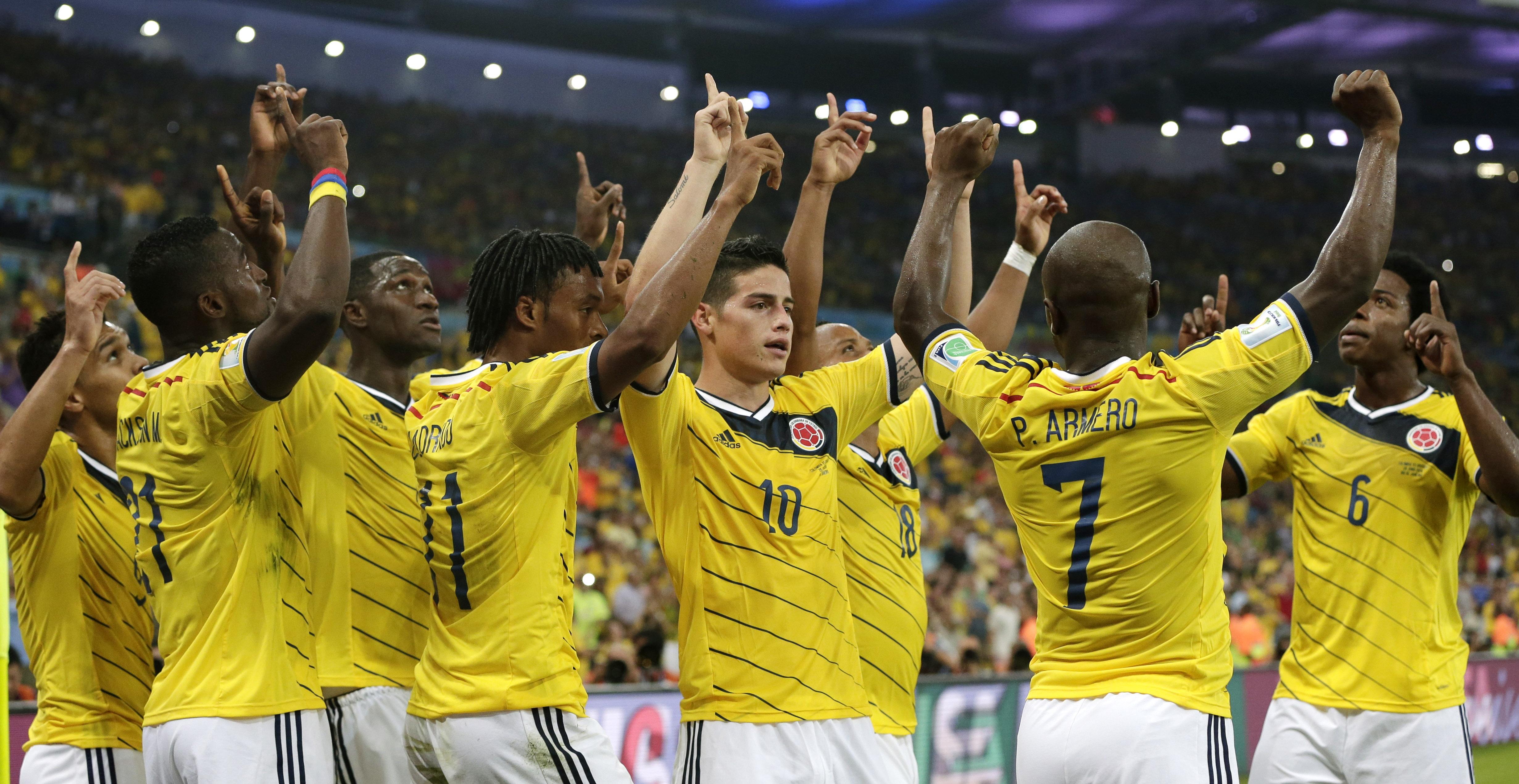 La selección Colombiana - 4922x2542