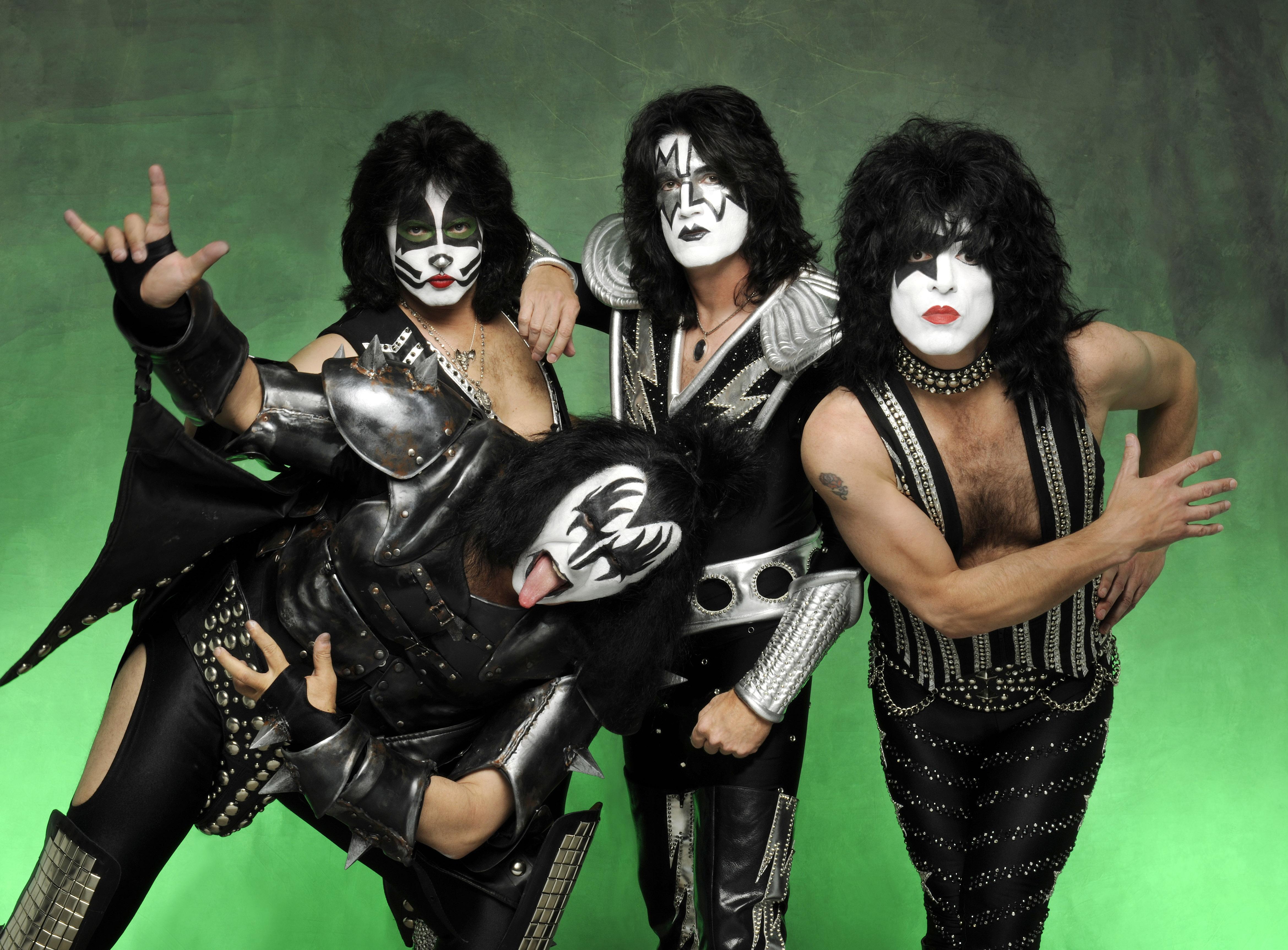 Las caras pintadas de Kiss - 4678x3450