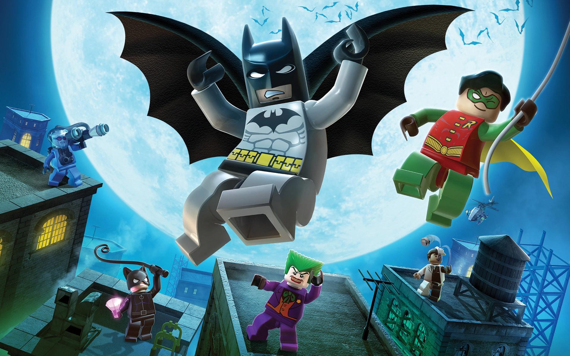 Legos de Batman y Robin - 1920x1200