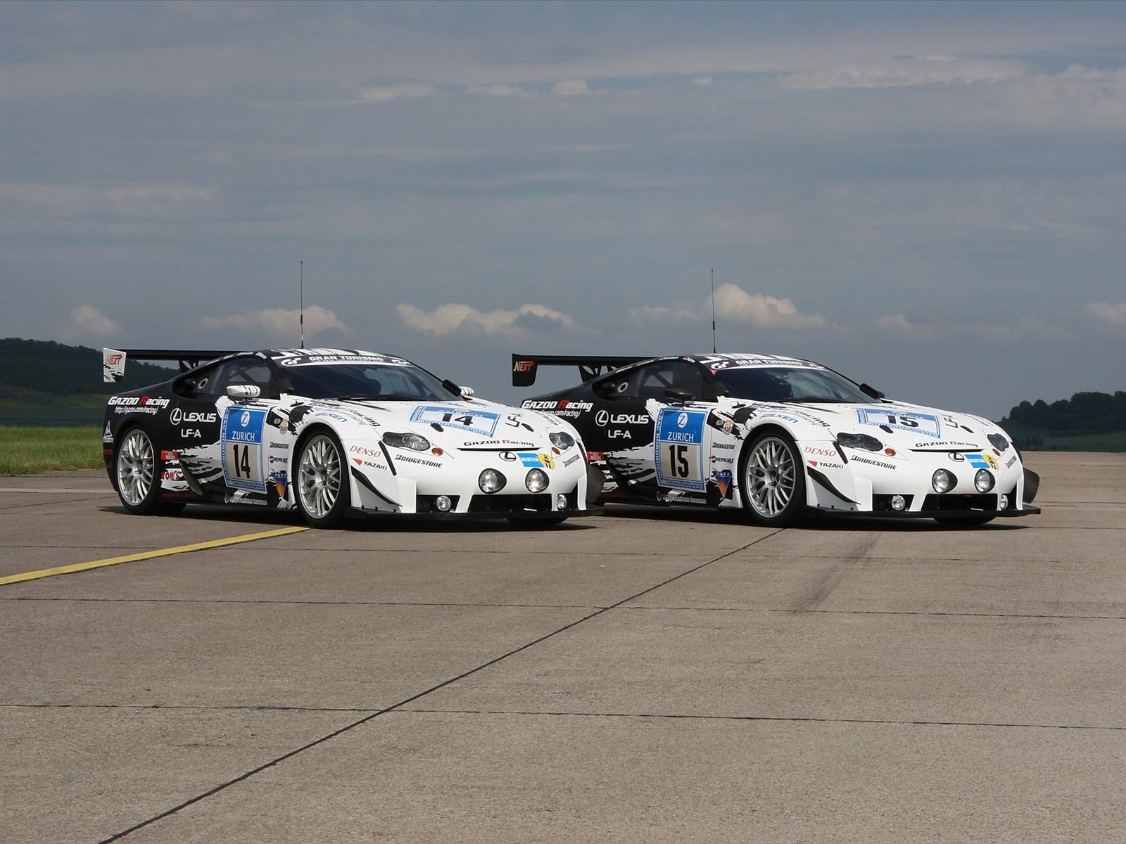 Lexus de carreras - 1600x1200