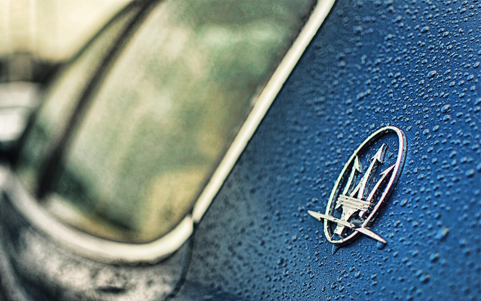 Logo de Maserati - 1920x1200